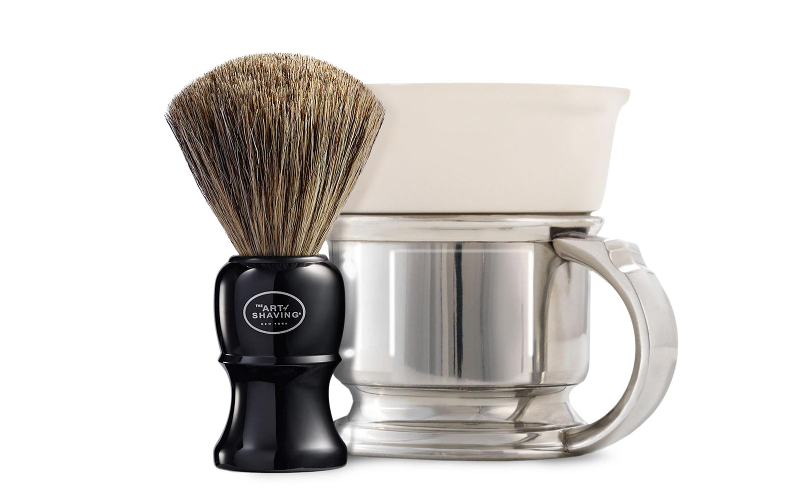 The Art of Shaving Mug and Brush