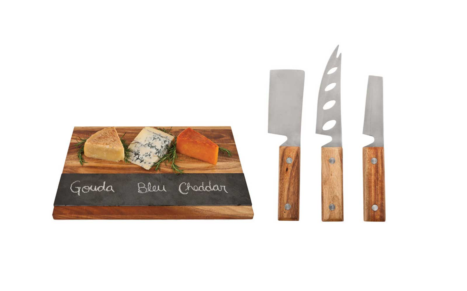 Cheese Knives and Board