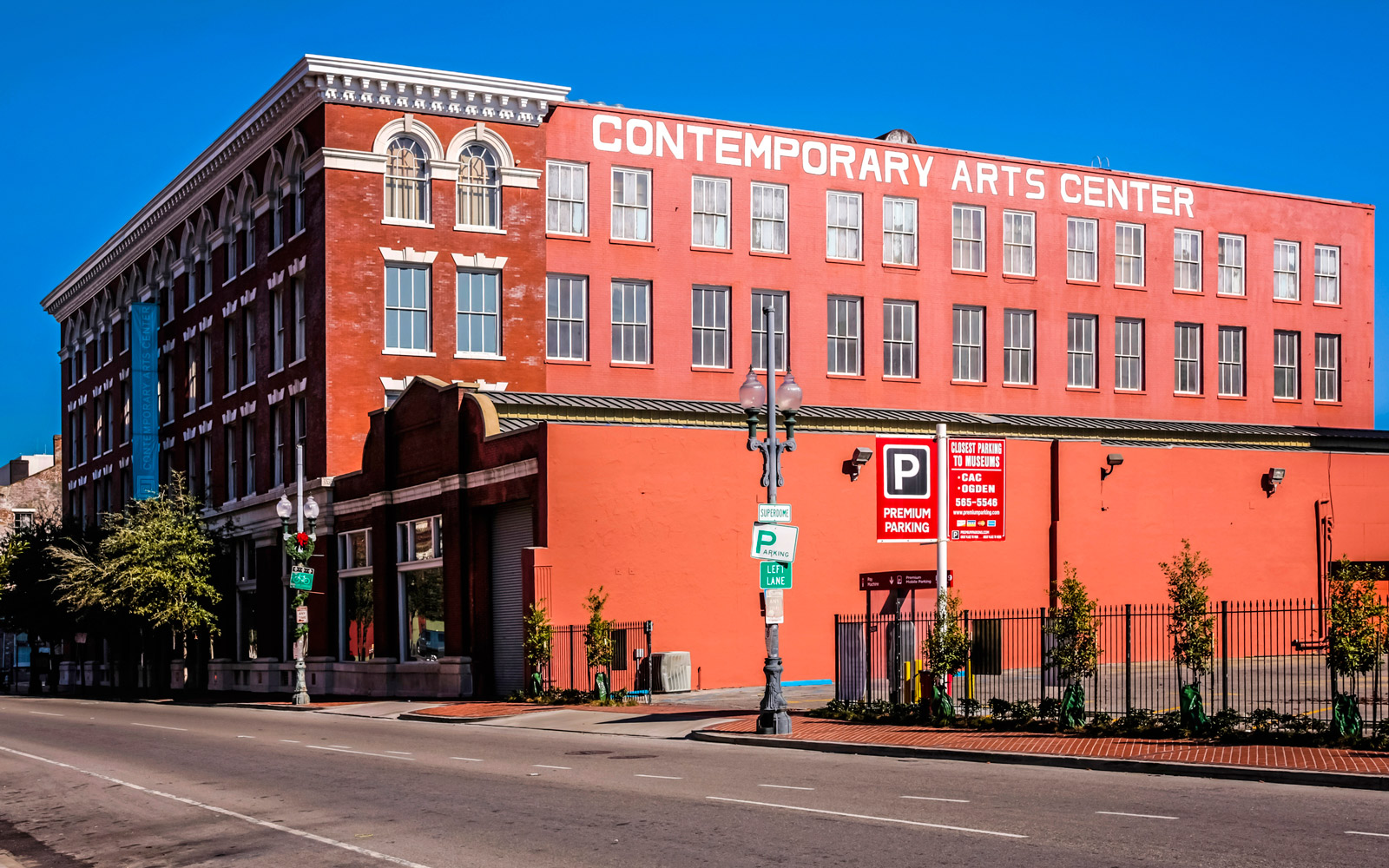 The Contemporary Arts Center in the Warehouse/Arts district of New Orleans Louisiana, USA