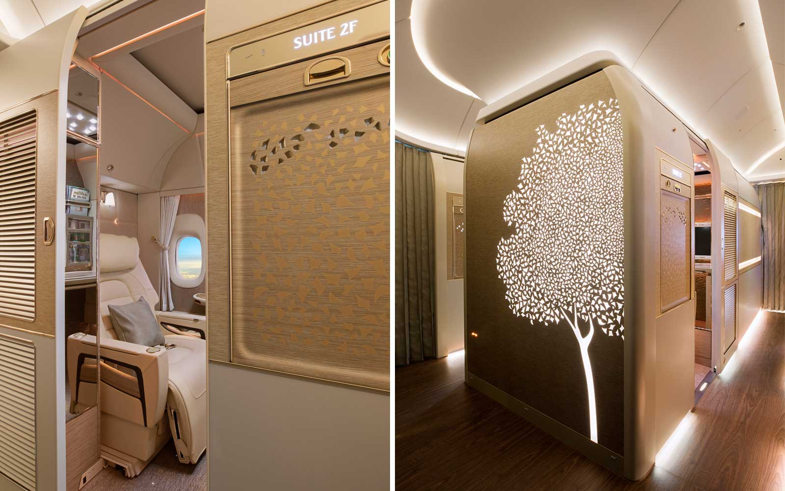 Emirates 777 New First Class Suites