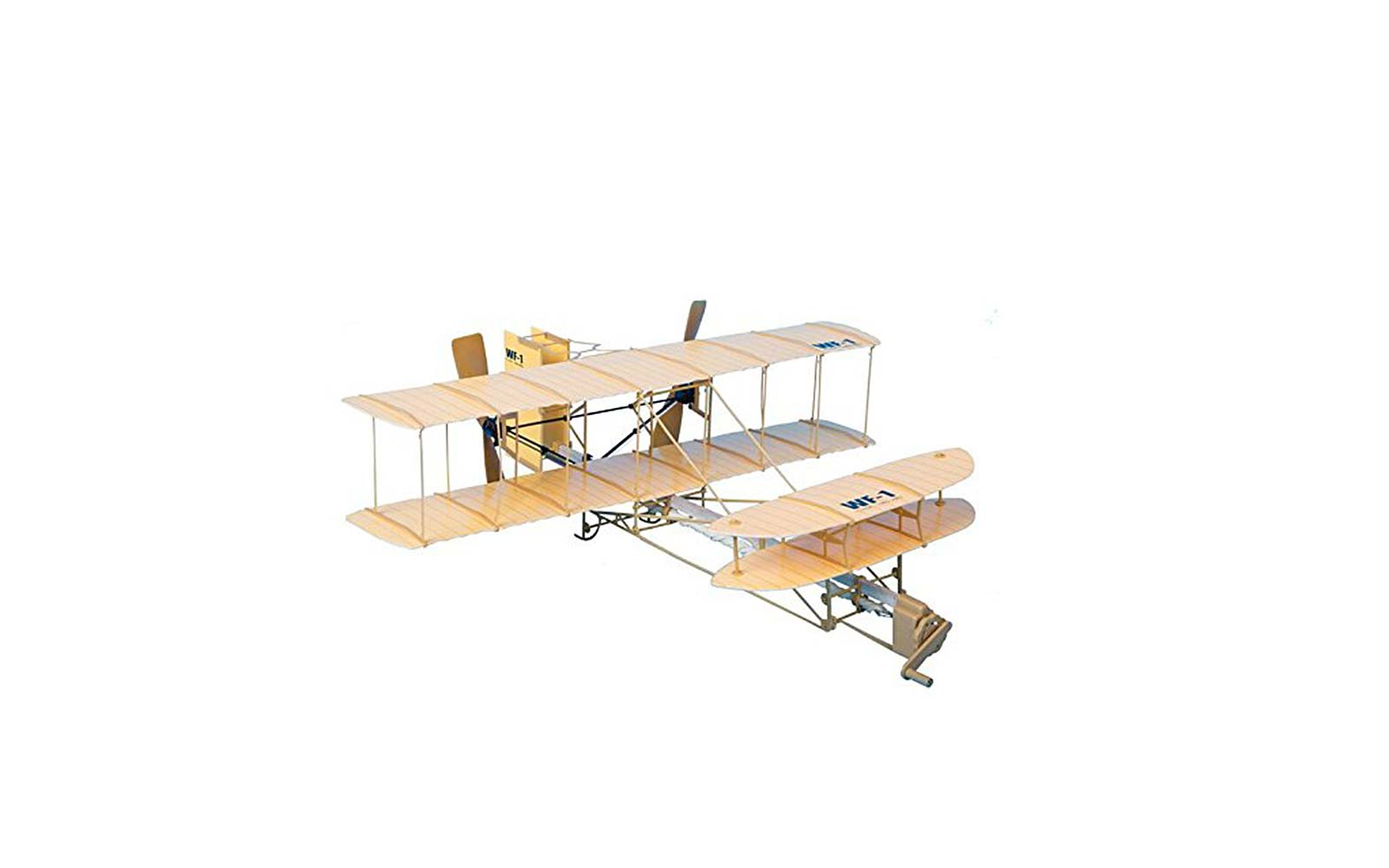giant wright flyer model kit toy airplane