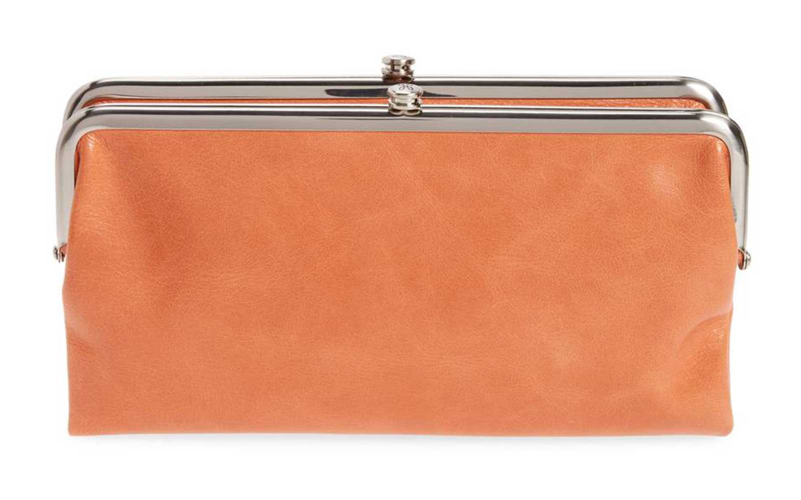 Hobo 'Lauren' Leather Clutch