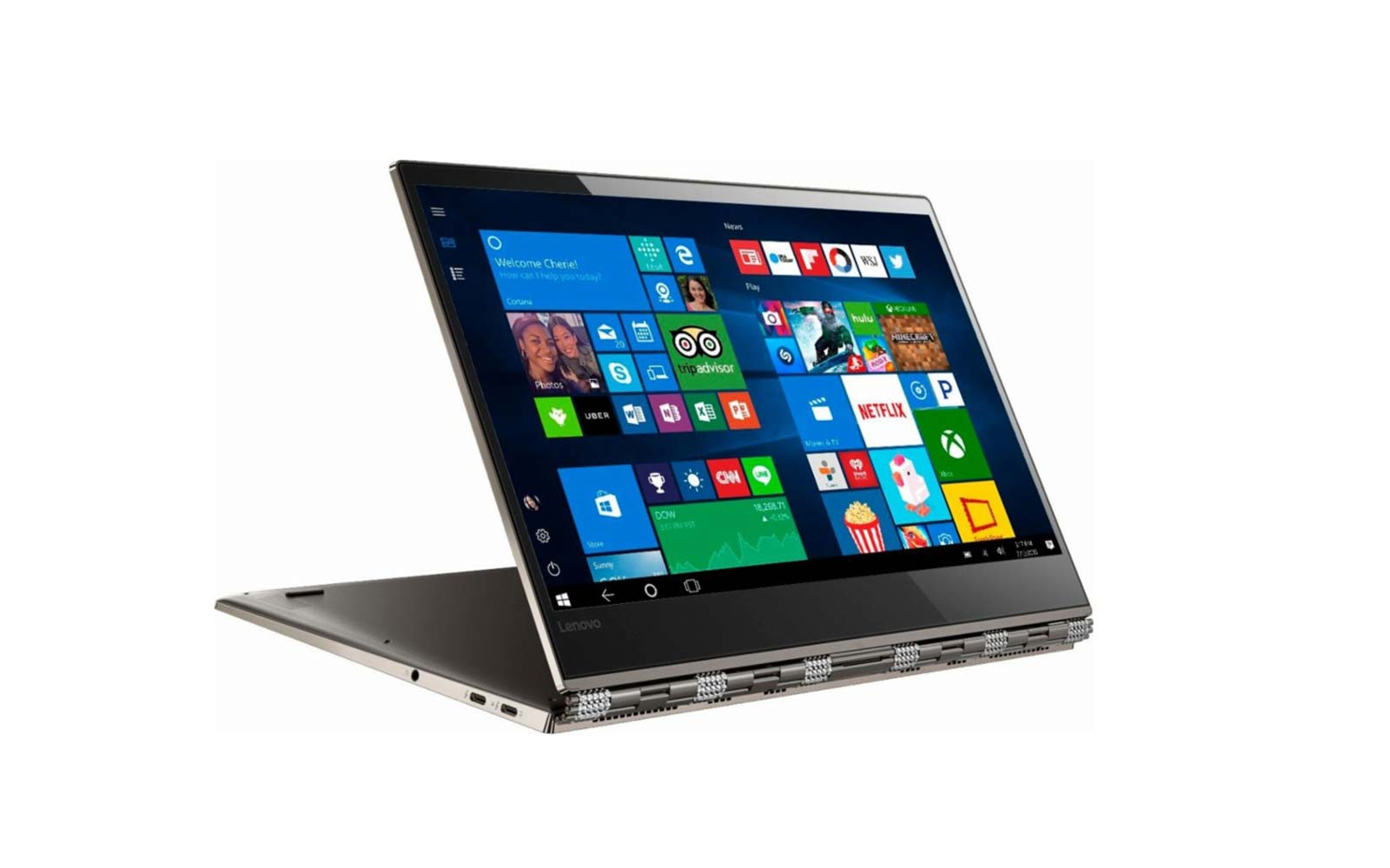 lenovo yoga notebook bronze