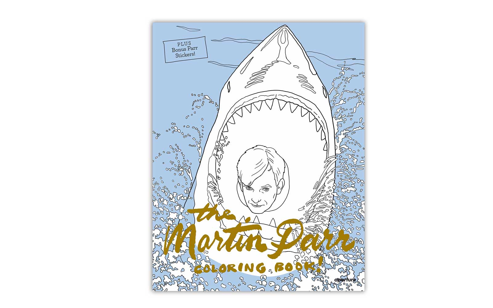 'The Martin Parr Coloring Book!'