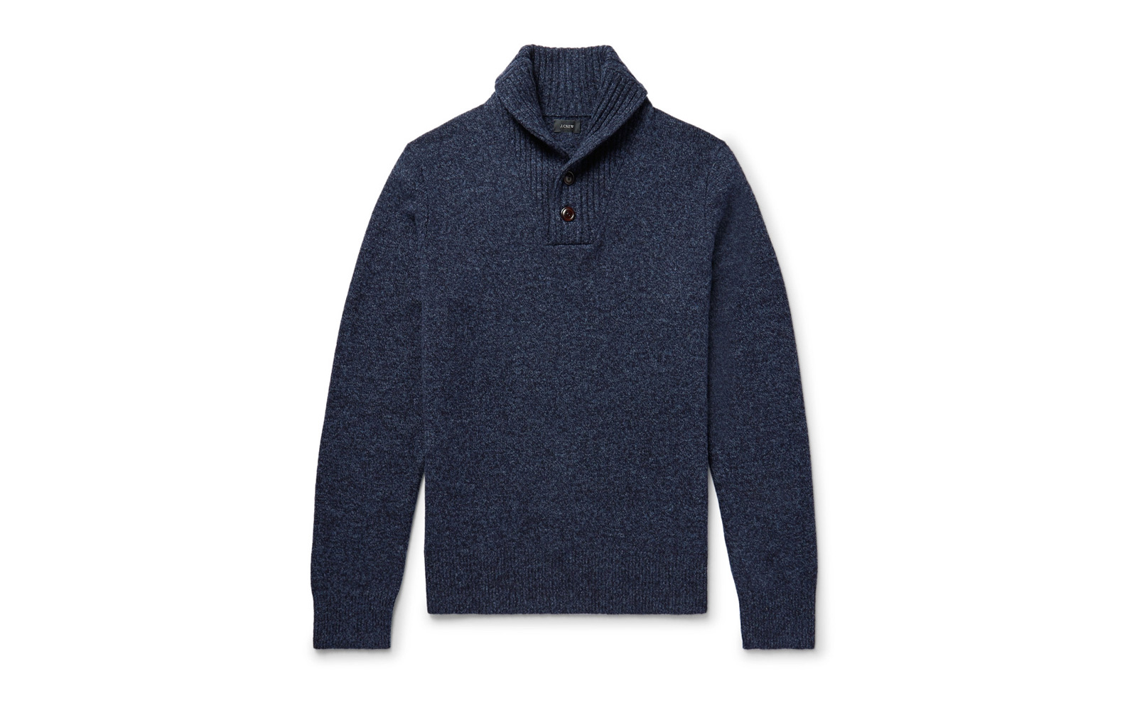 J Crew Shawl Collar Wool Sweater