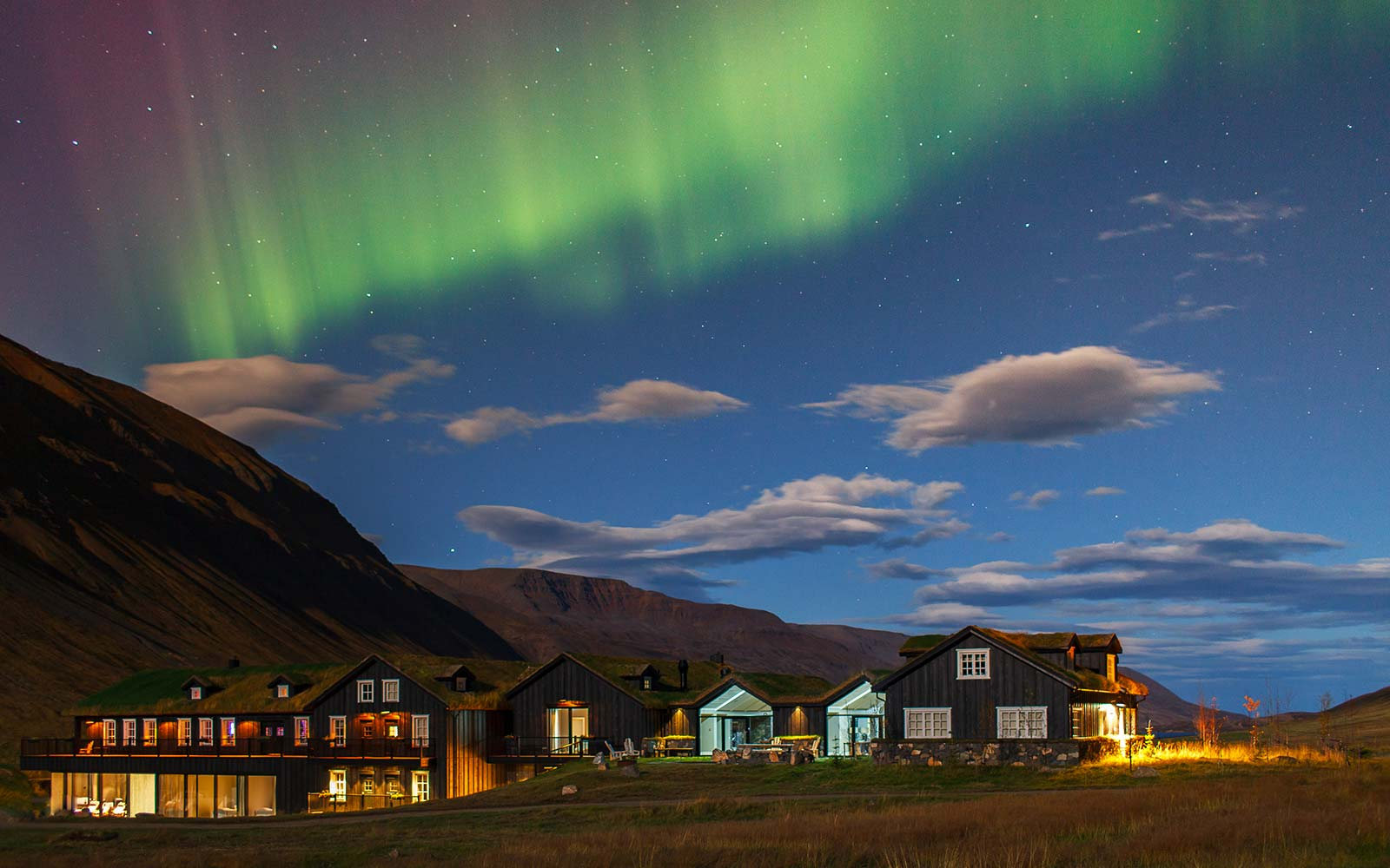 Deplar Farm retreat Iceland Eleven Experience Northern Lights