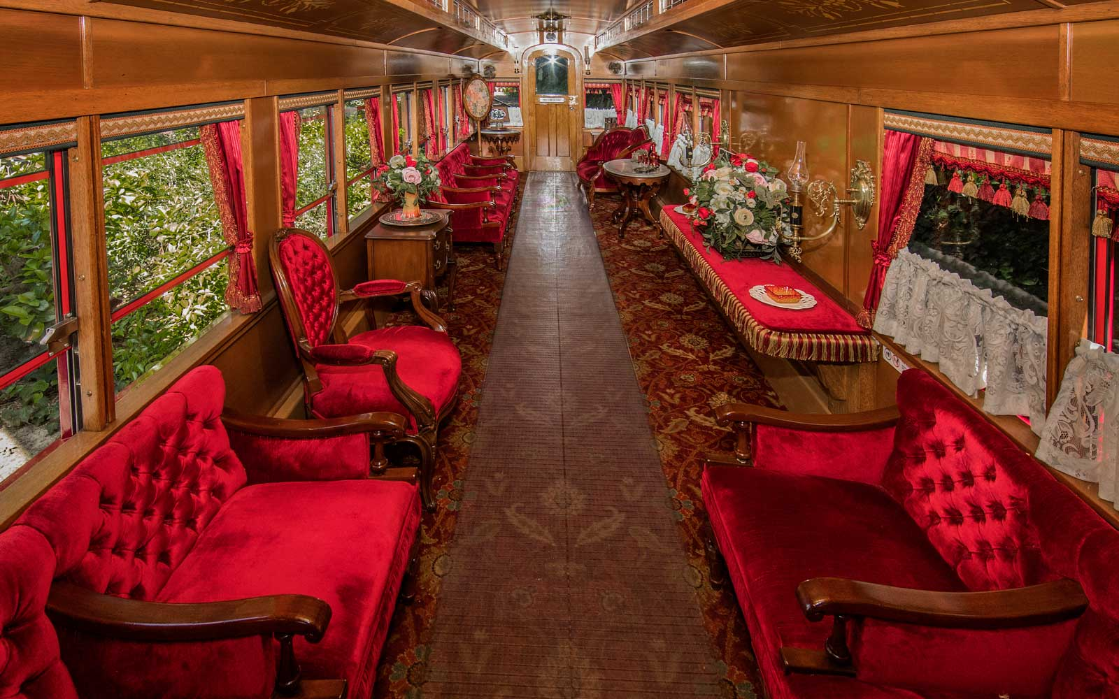 Luxury Railroad Car