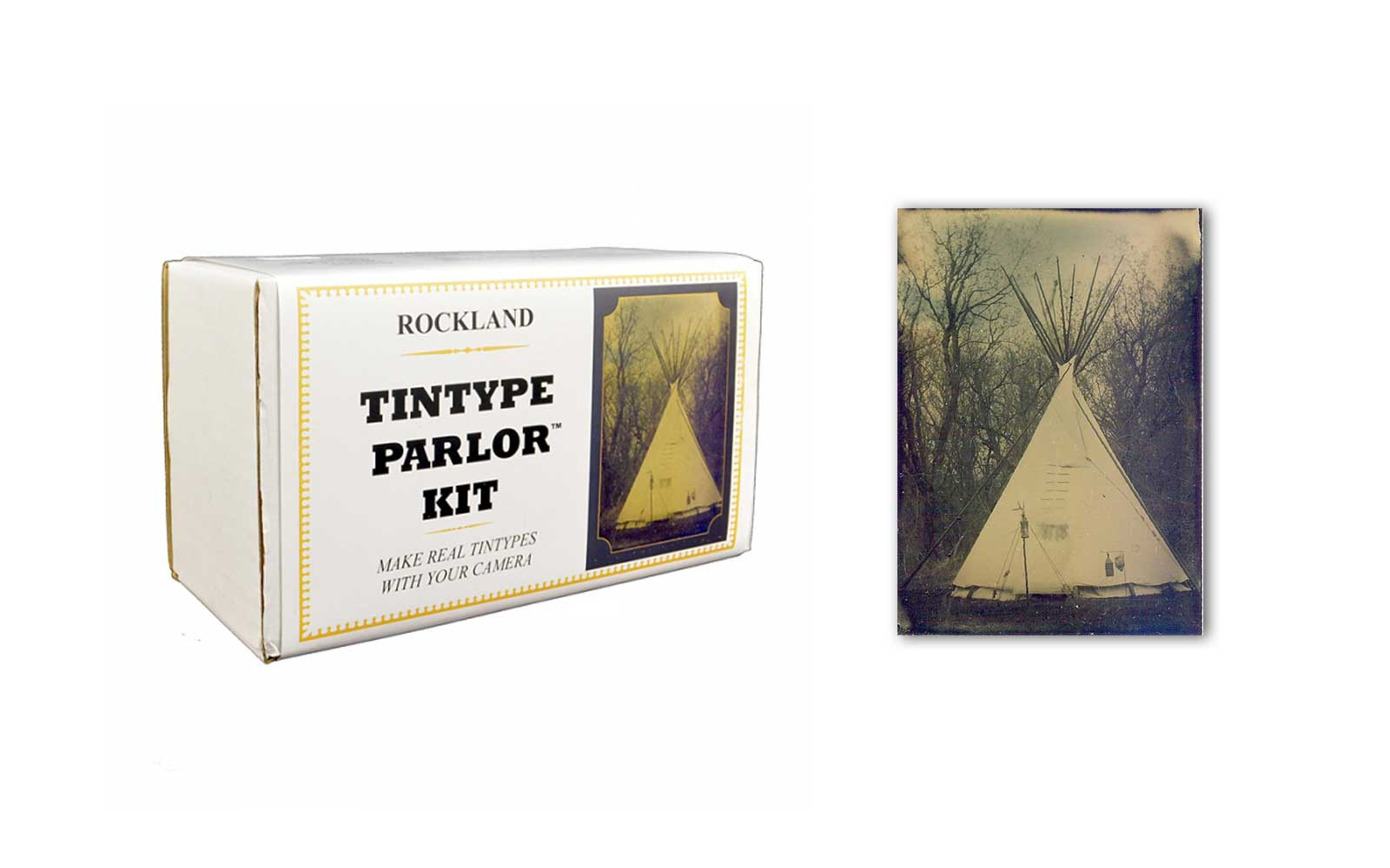 Rockland Colloid Tintype Parlor Kit