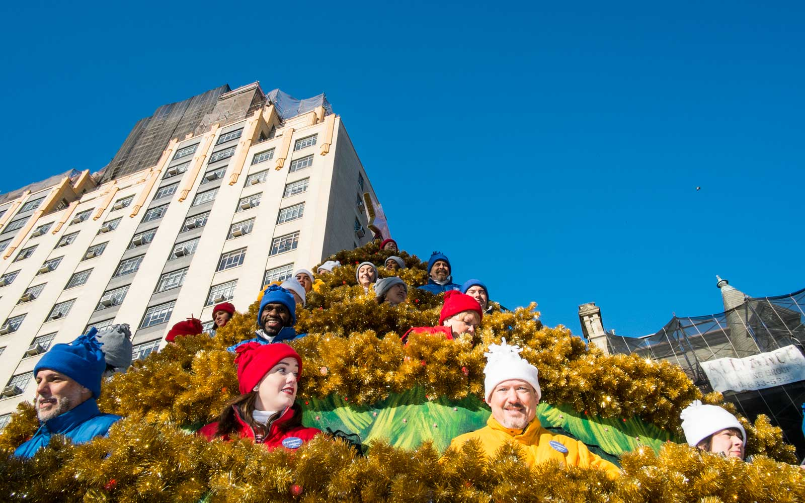 Behind the scenes of the Macy's Thanksgiving Day Parade