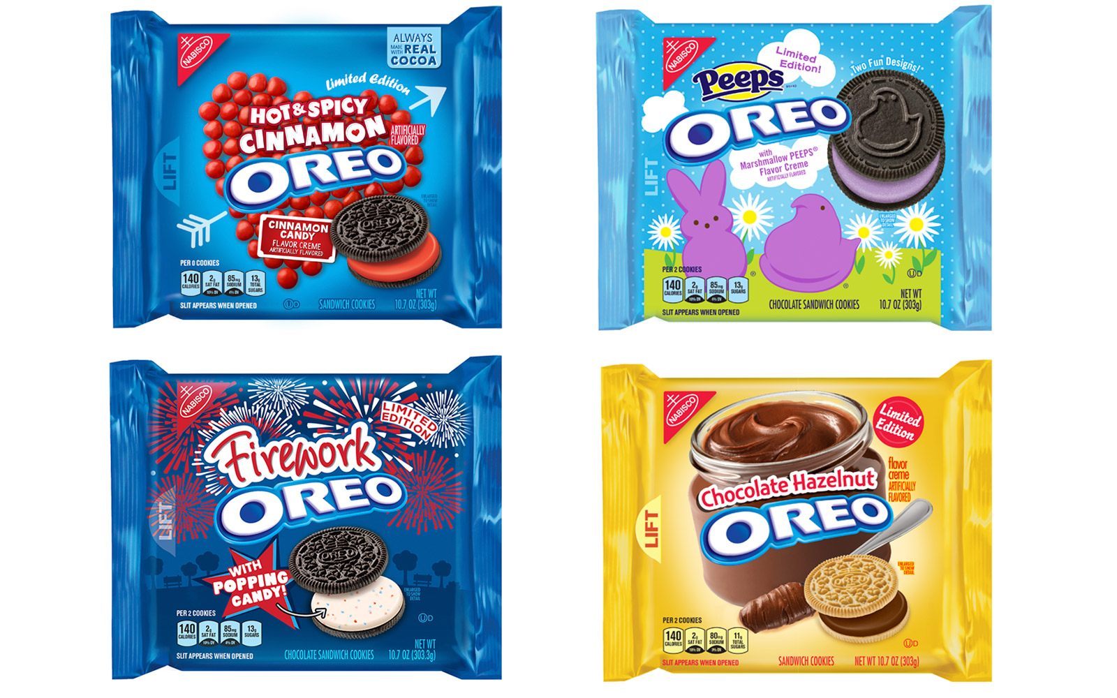 New Oreo flavors for 2018