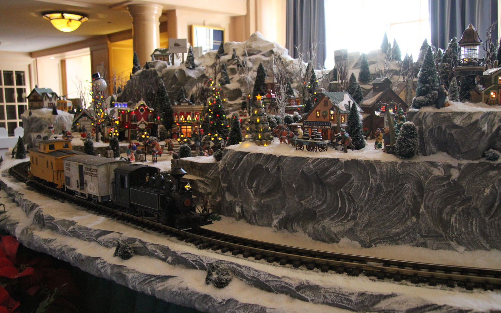 Disney World holiday train