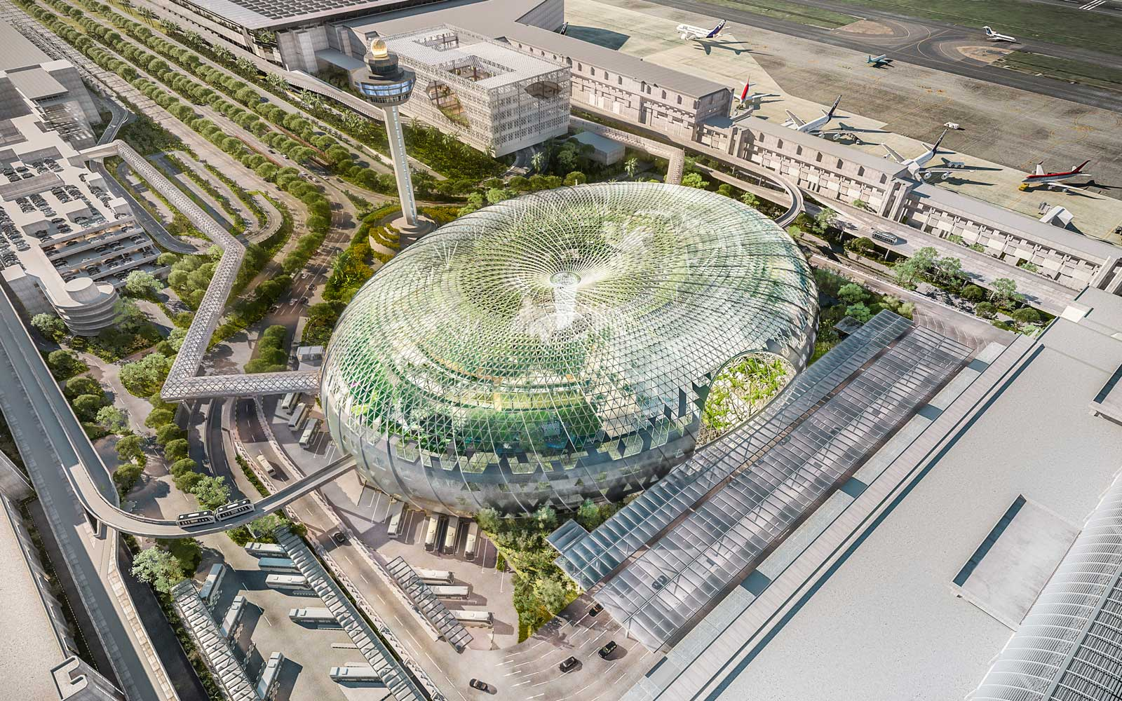 A World Class Retail Experience at Jewel Changi Airport