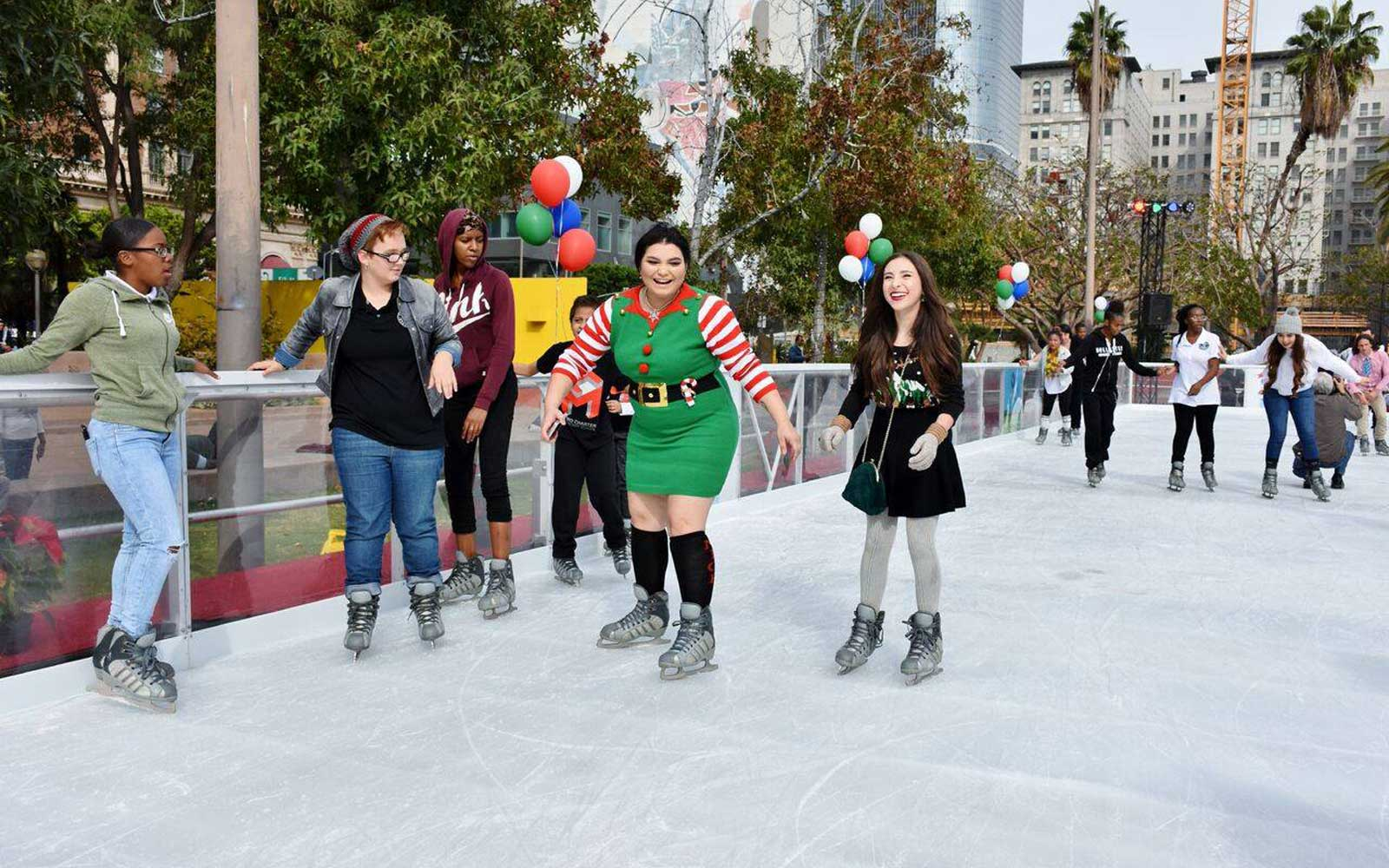 Bai Holiday Ice Rink in Pershing Square