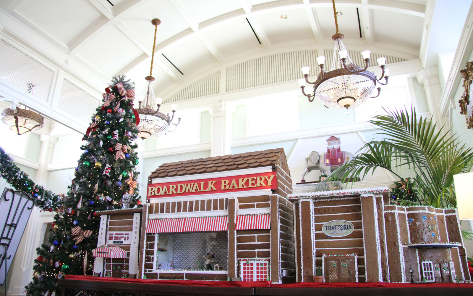 Boardwalk bakery decorations