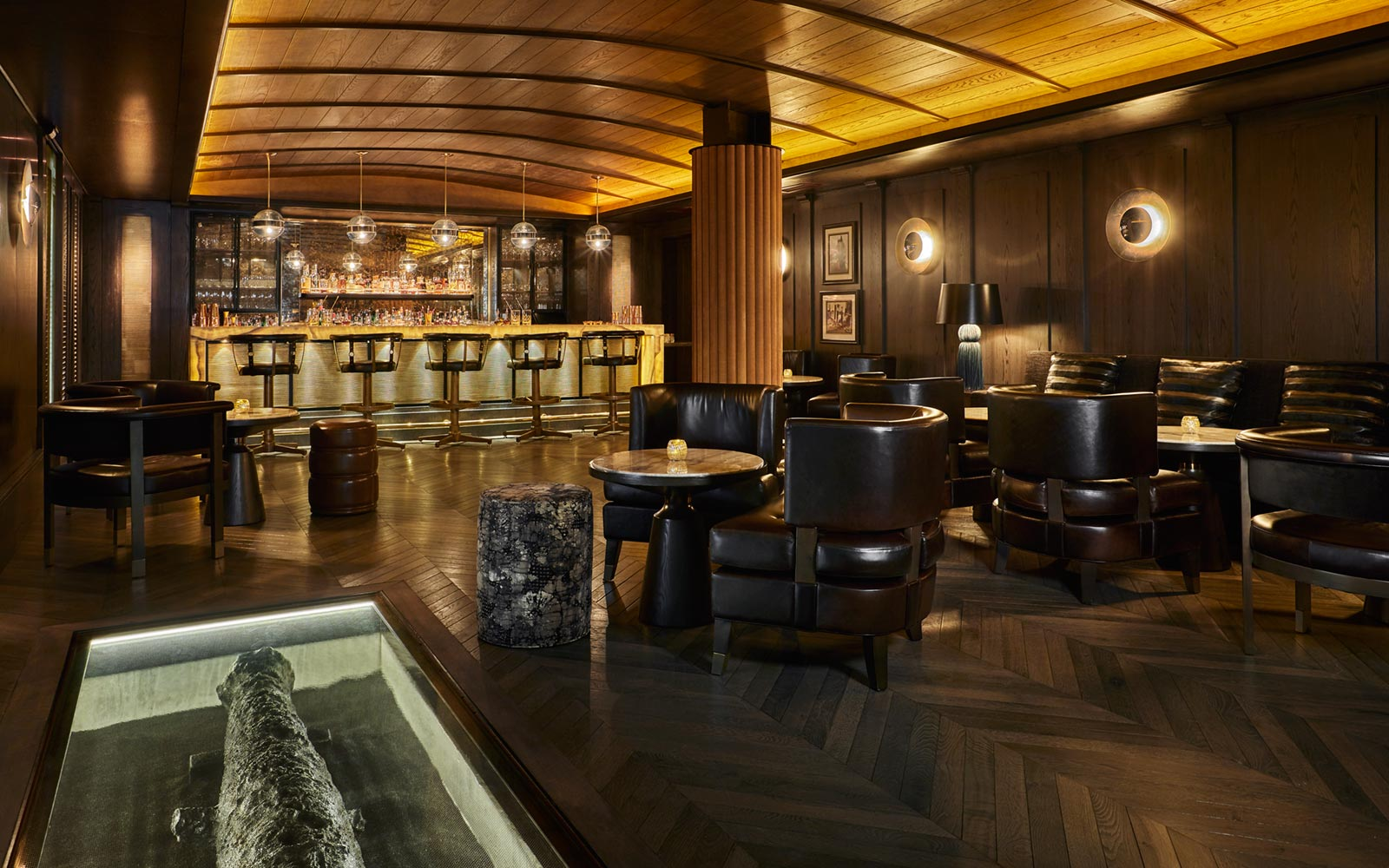 Cannon Room, Sagamore Pendry, Baltimore, Maryland