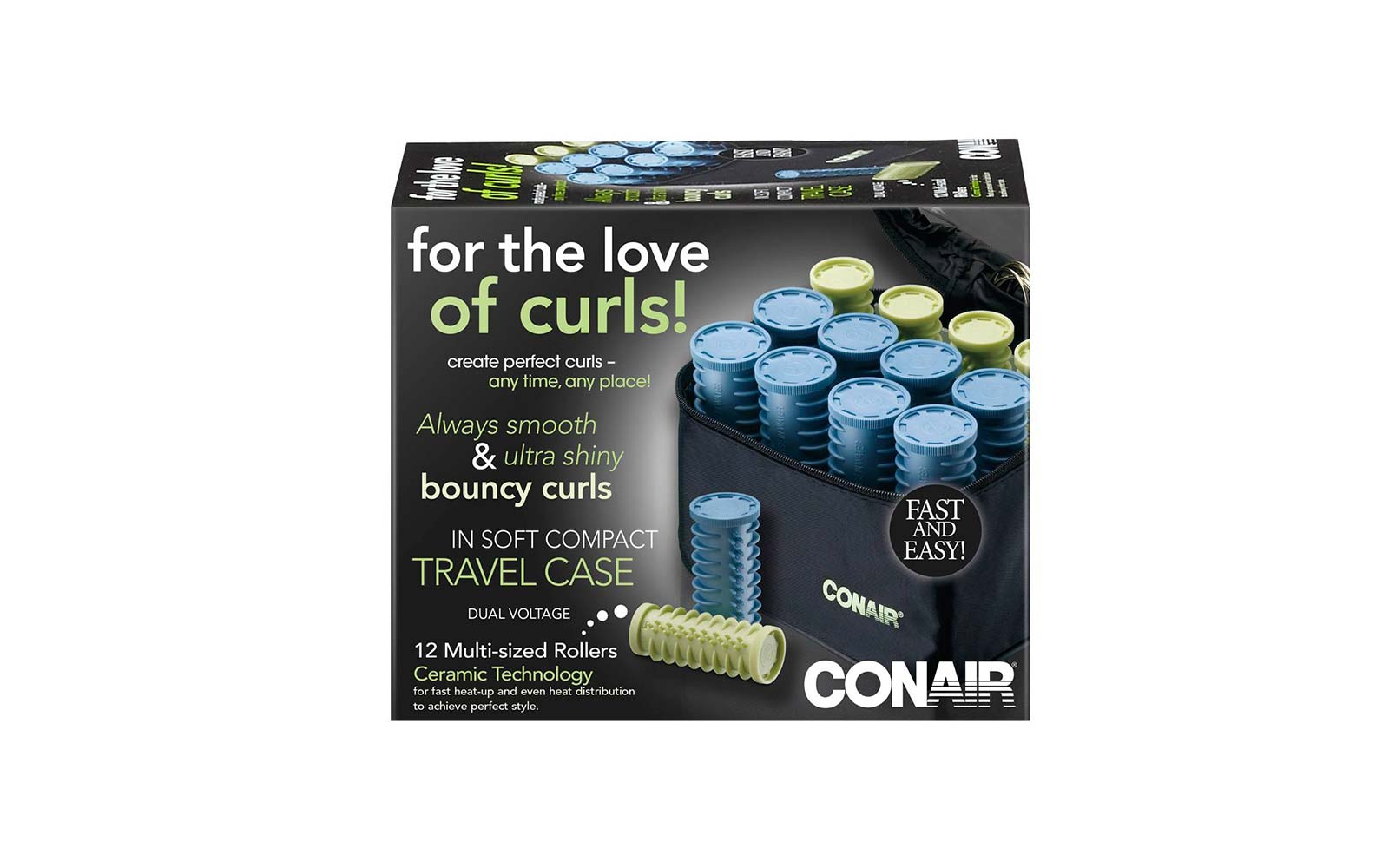 Conair travel hair curlers