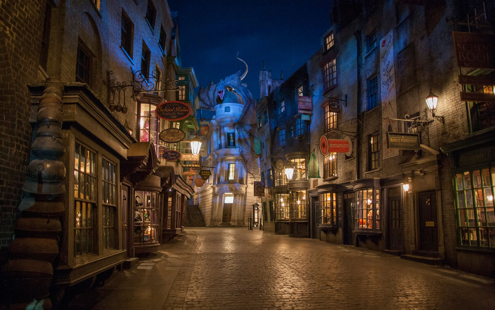 Diagon Alley at Harry Potter World