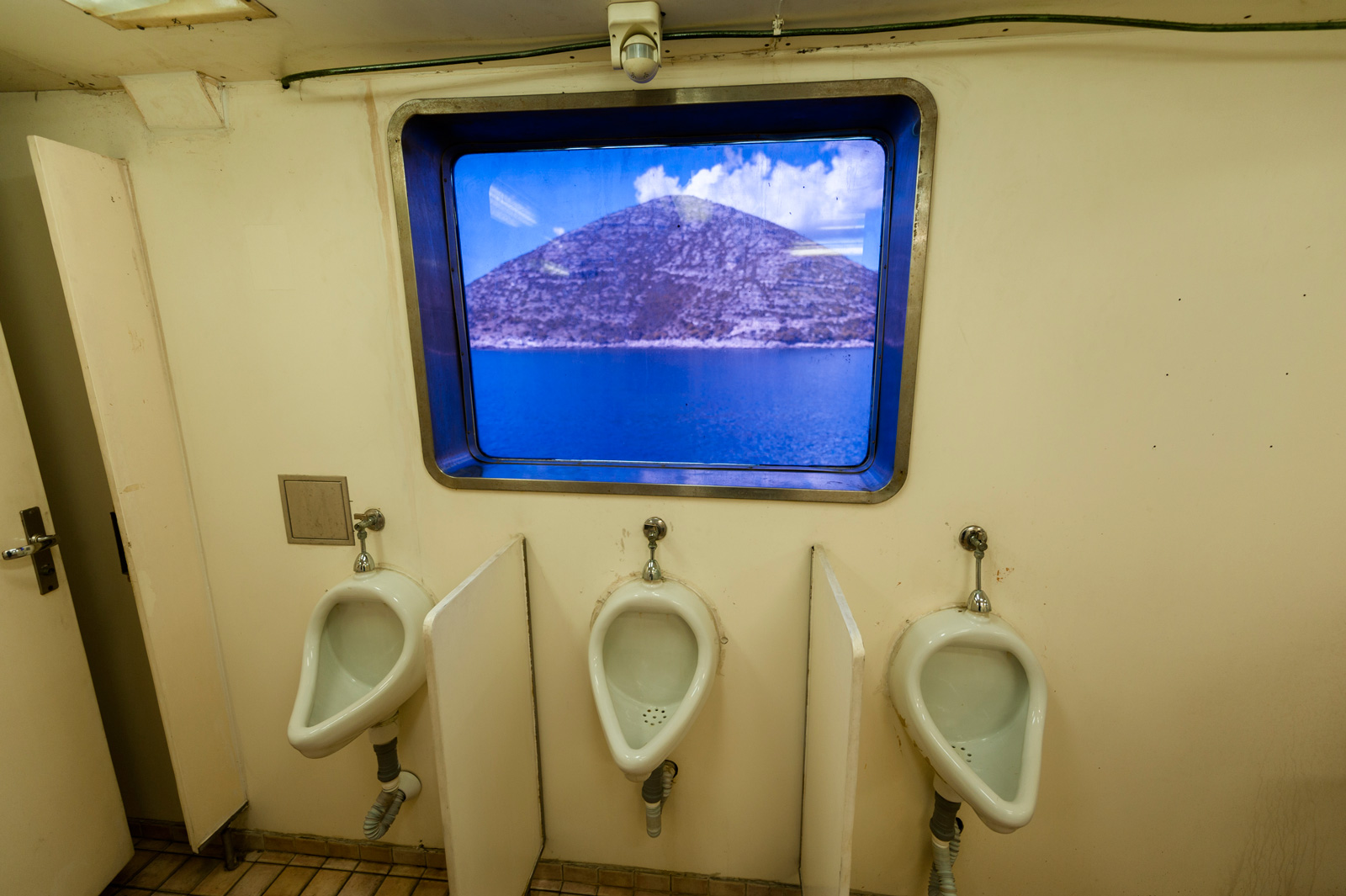 Toilets with views.
