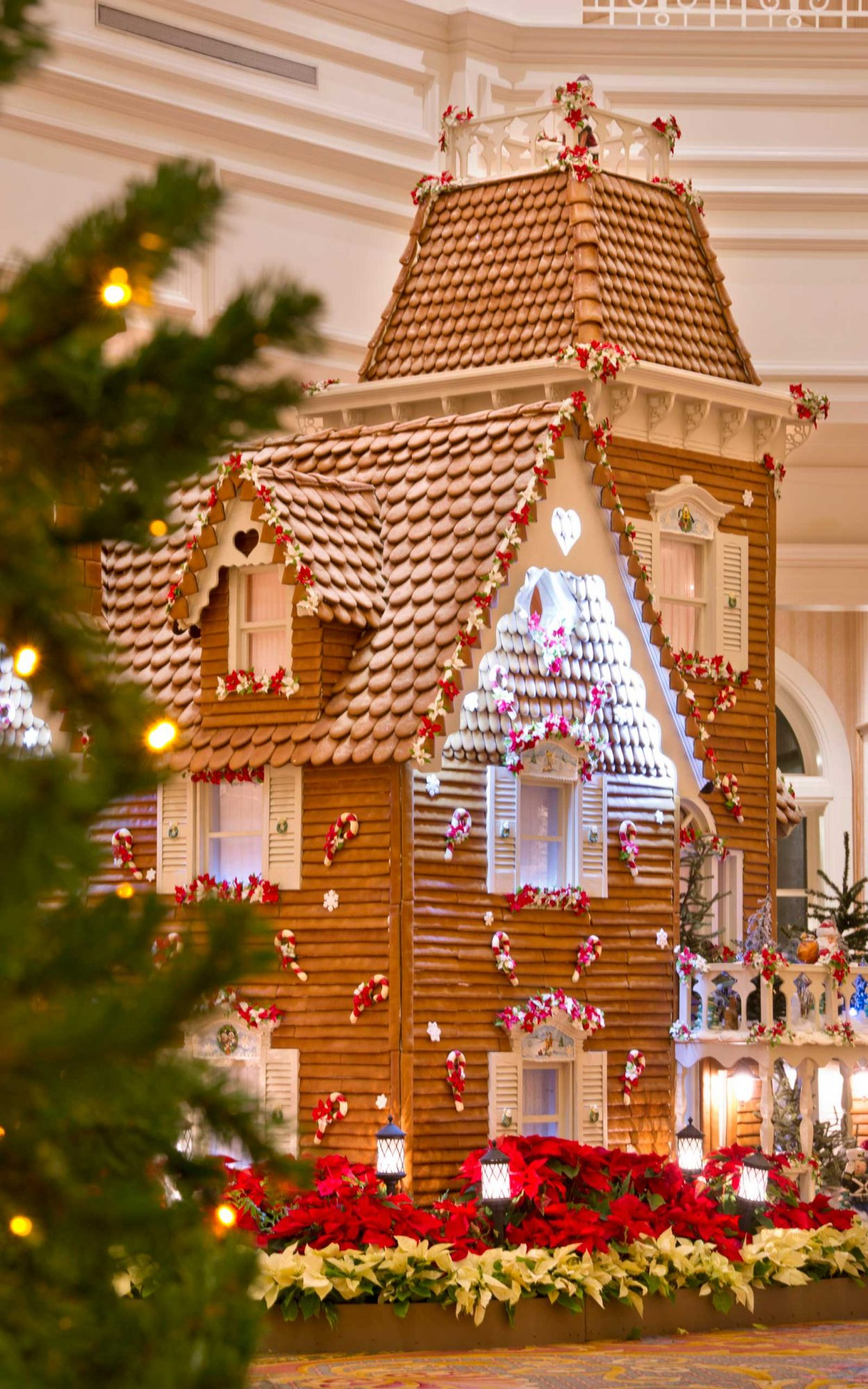 Disney's Grand Floridian Resort & Spa's Gingerbread House on Display for the Holidays