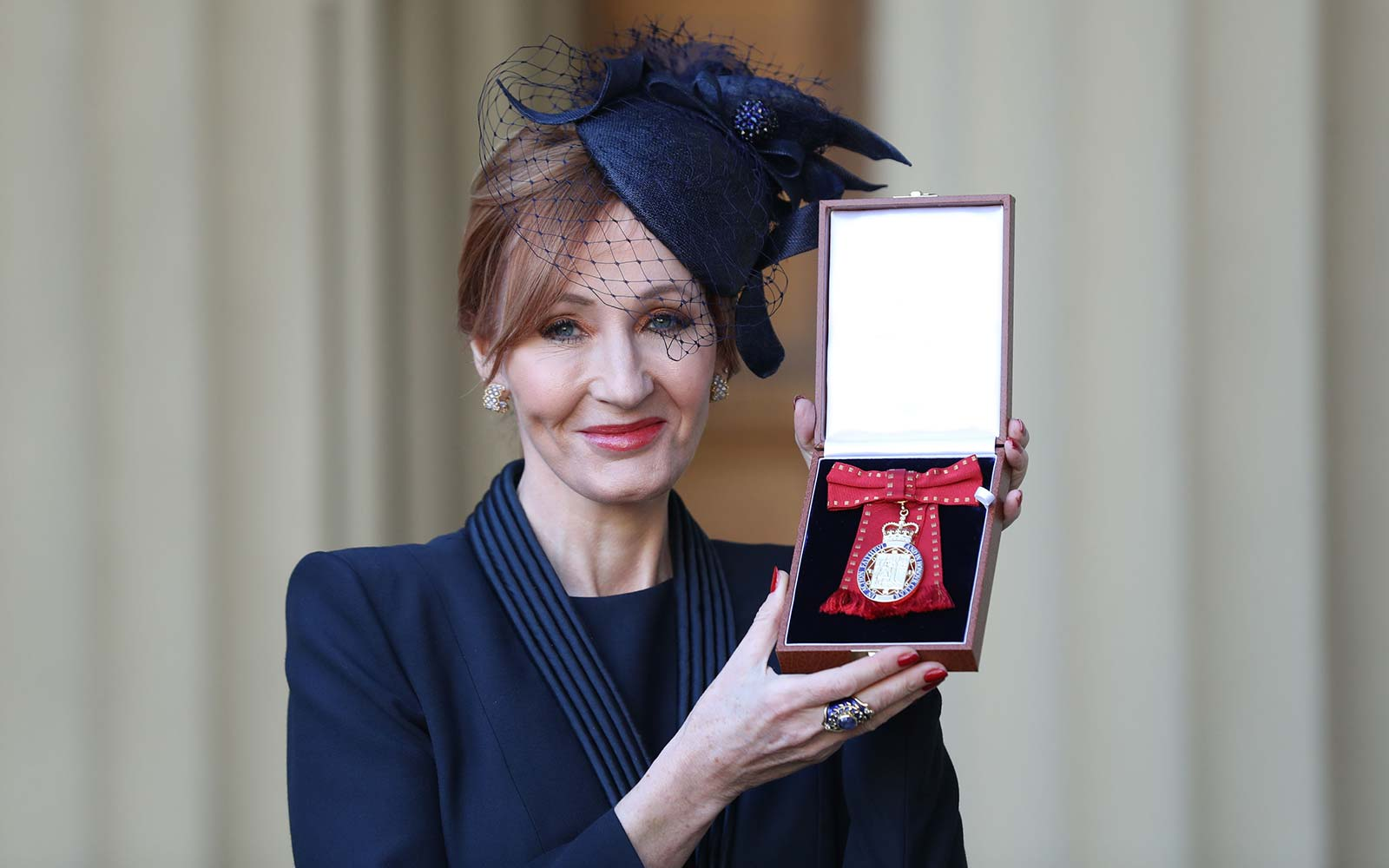 JK Rowling author Harry Potter royal award Buckingham Palace