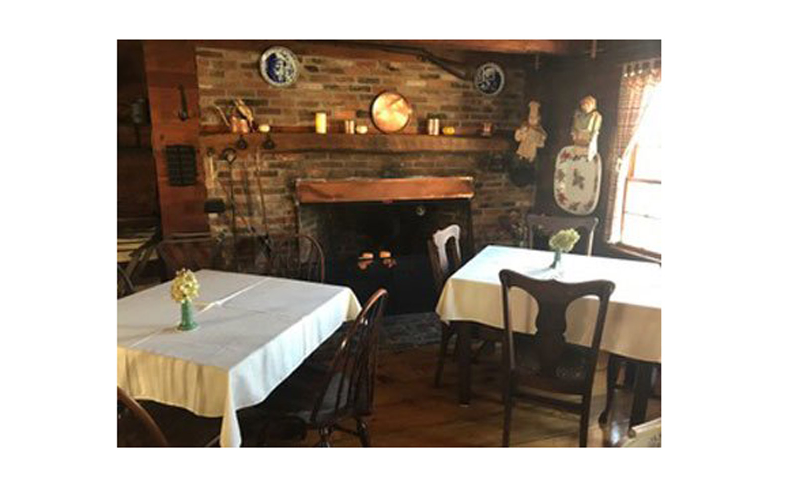 Maine – Dining Room at Squire Tarbox Inn