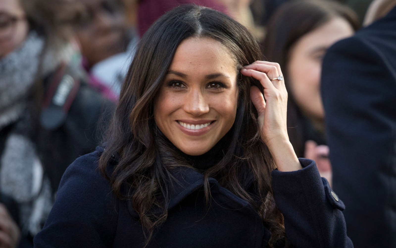 Meghan Markle arrives at the Terrance Higgins Trust World AIDS Day charity fair at Nottingham Contemporary on December 1, 2017 in Nottingham, England
