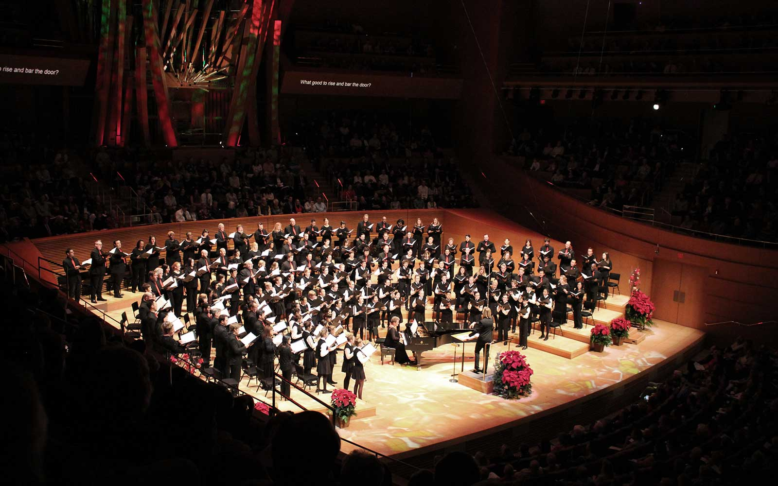Messiah Sing Along Walt Disney Concert Halls