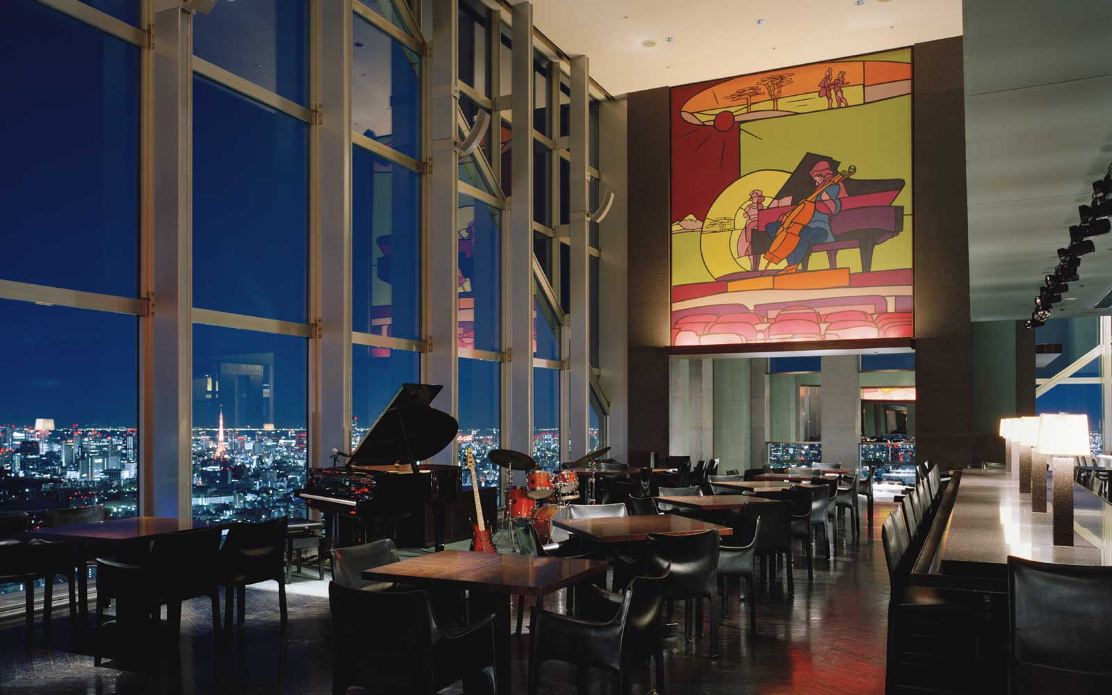 New York Bar at the Park Hyatt Tokyo