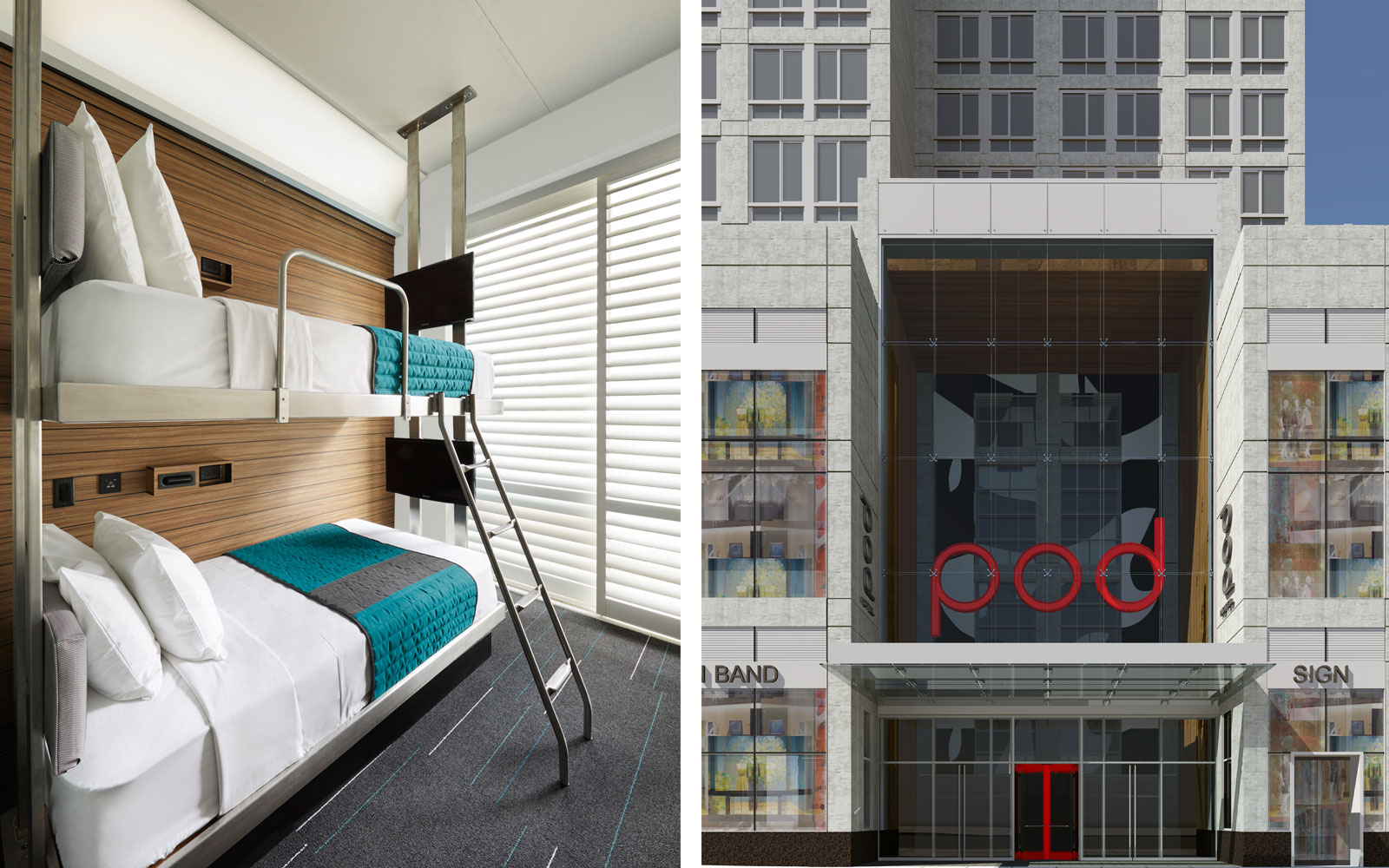 The Pod Hotel in Times Square