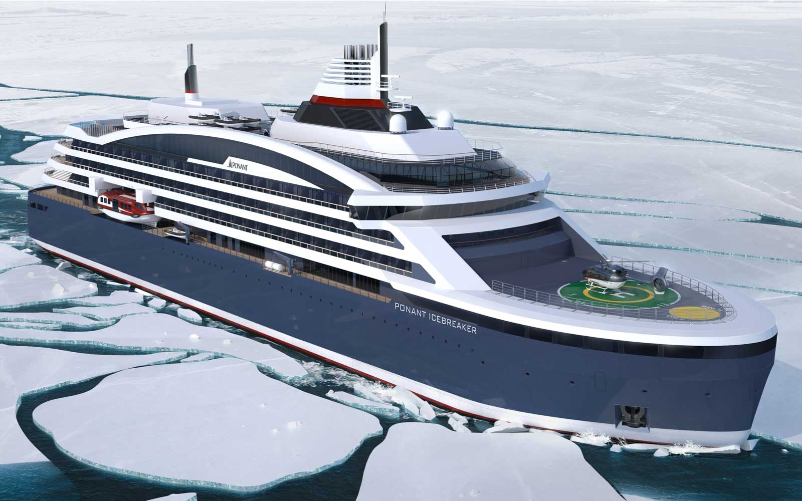 Ponant New Polar Expedition Ship