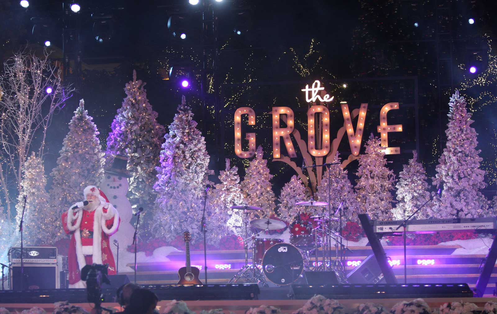 The Grove's Holiday Festivities