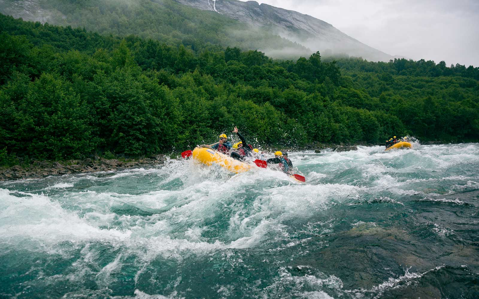 Water Adventure Rafting in Valldal Norway