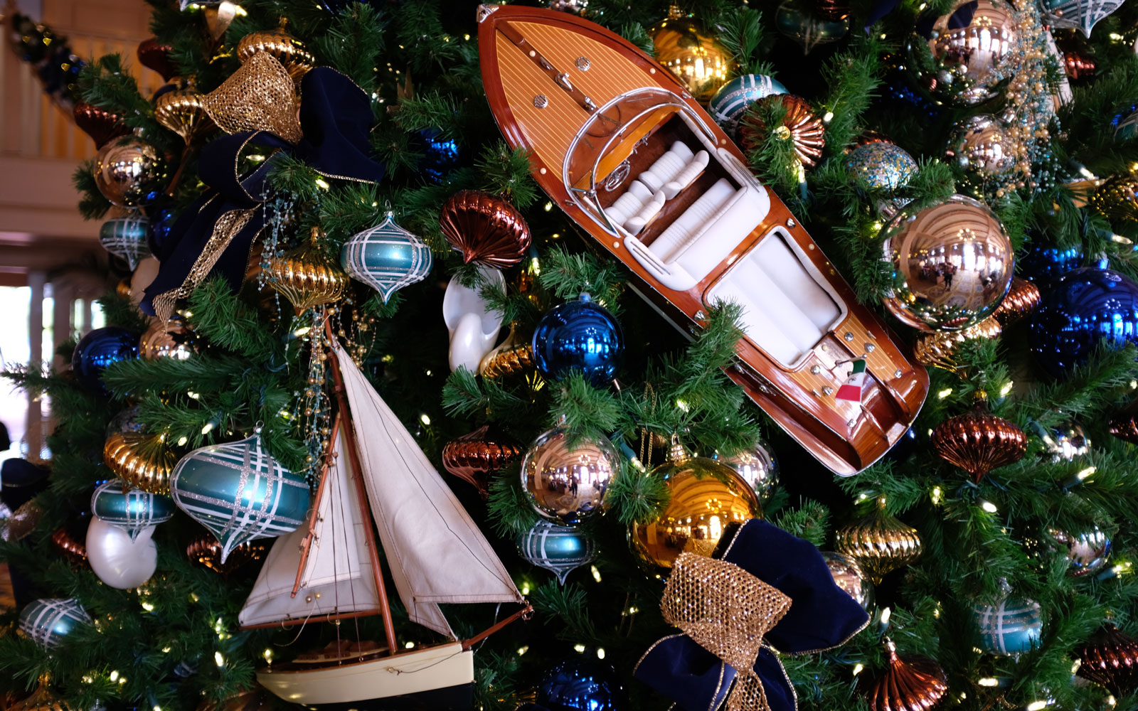 Yacht Club ornaments at Disney