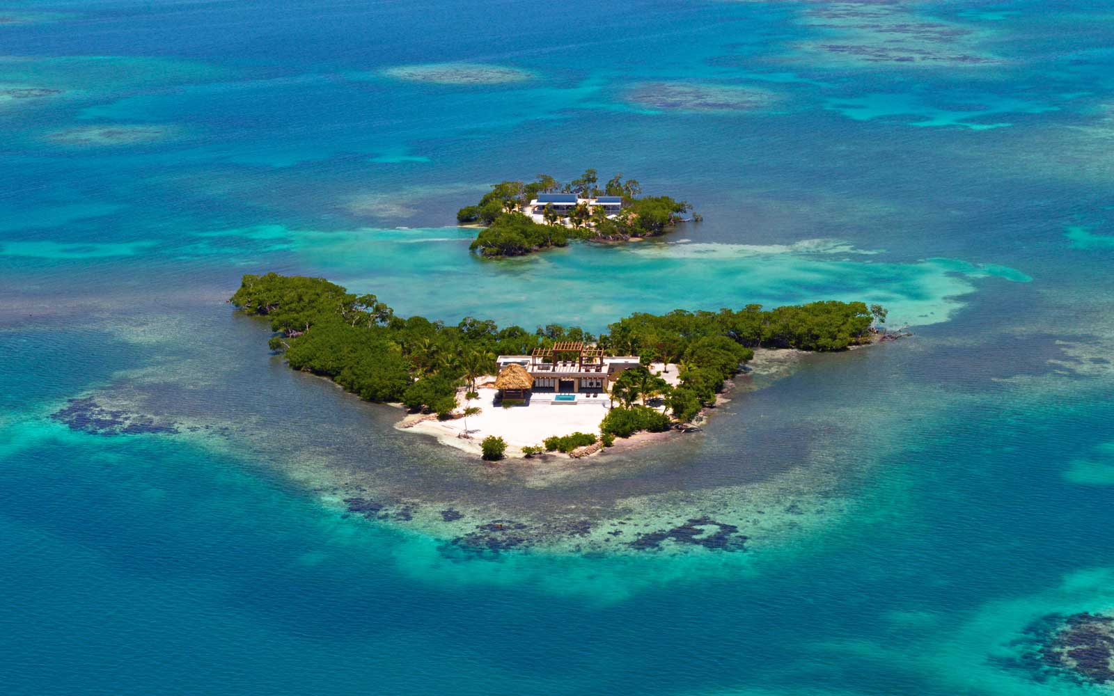 Gladden Private Island house near Belize