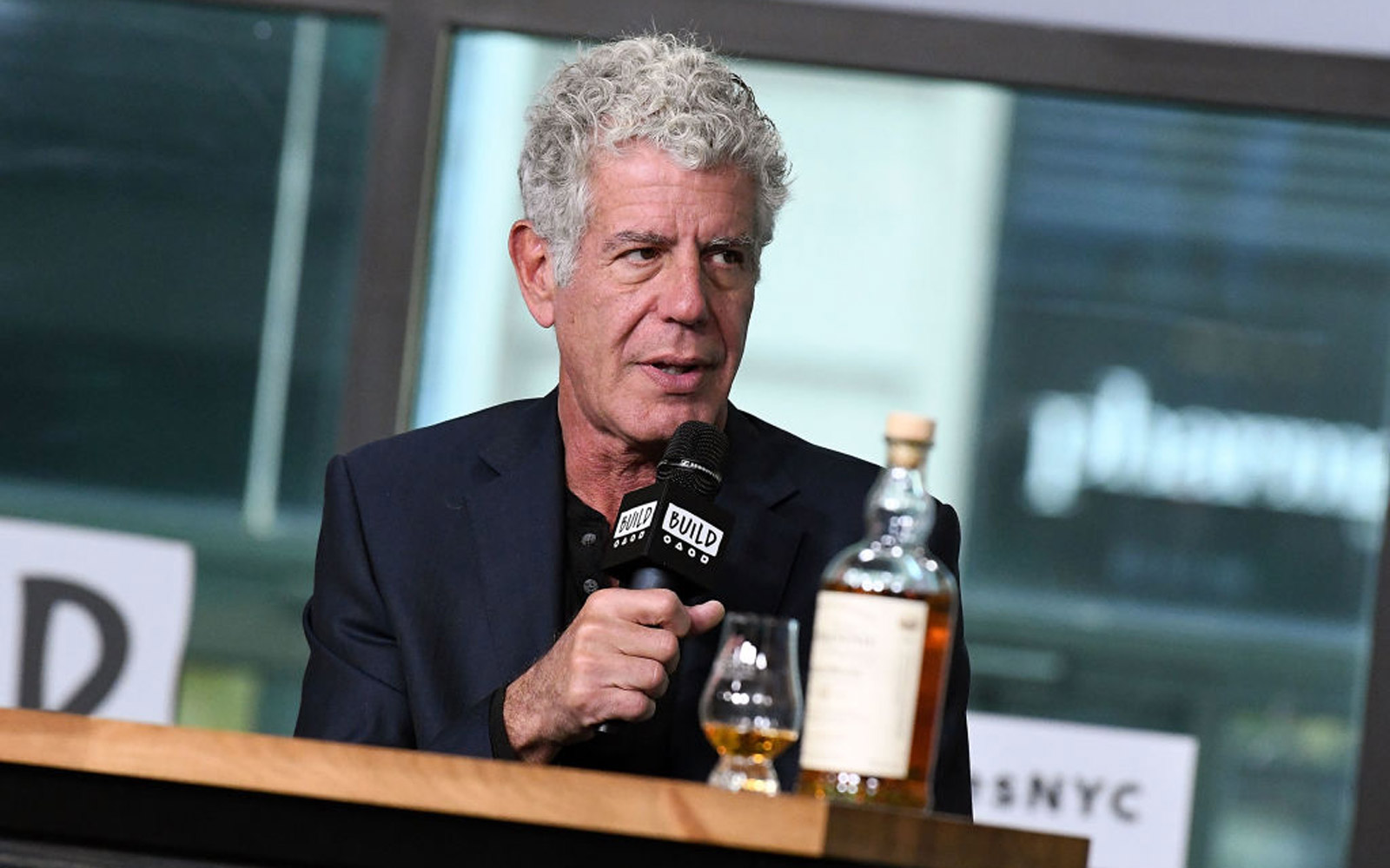 "Build Presents Anthony Bourdain Discussing The Balvenie's ""Raw Craft"""