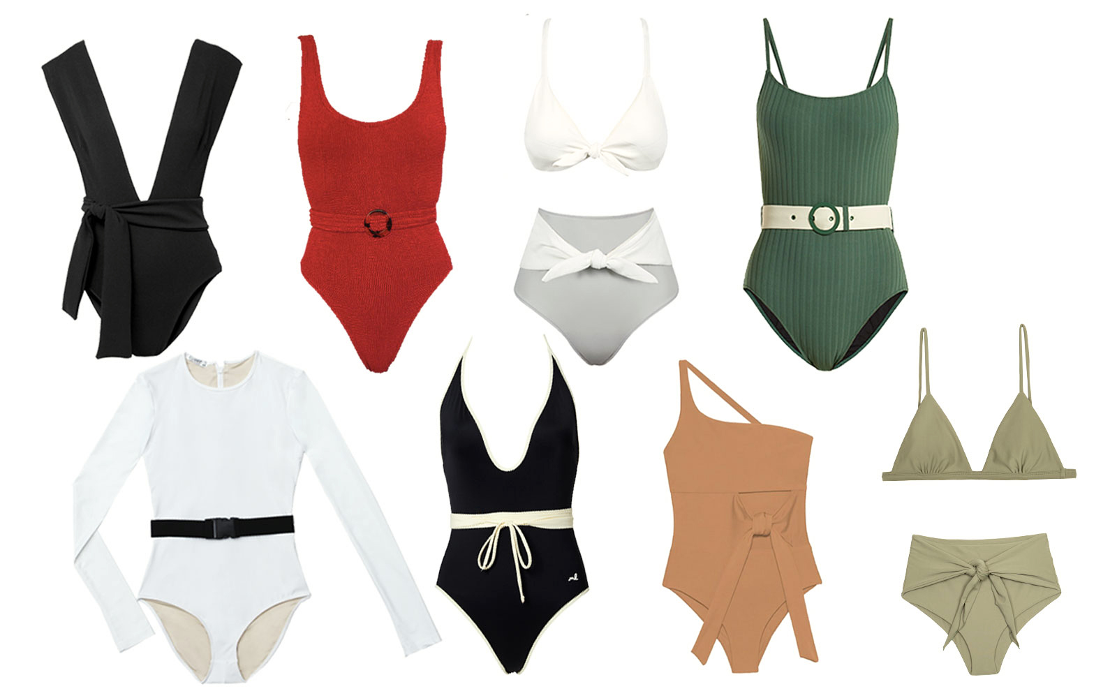 Belted Swimsuits for 2018