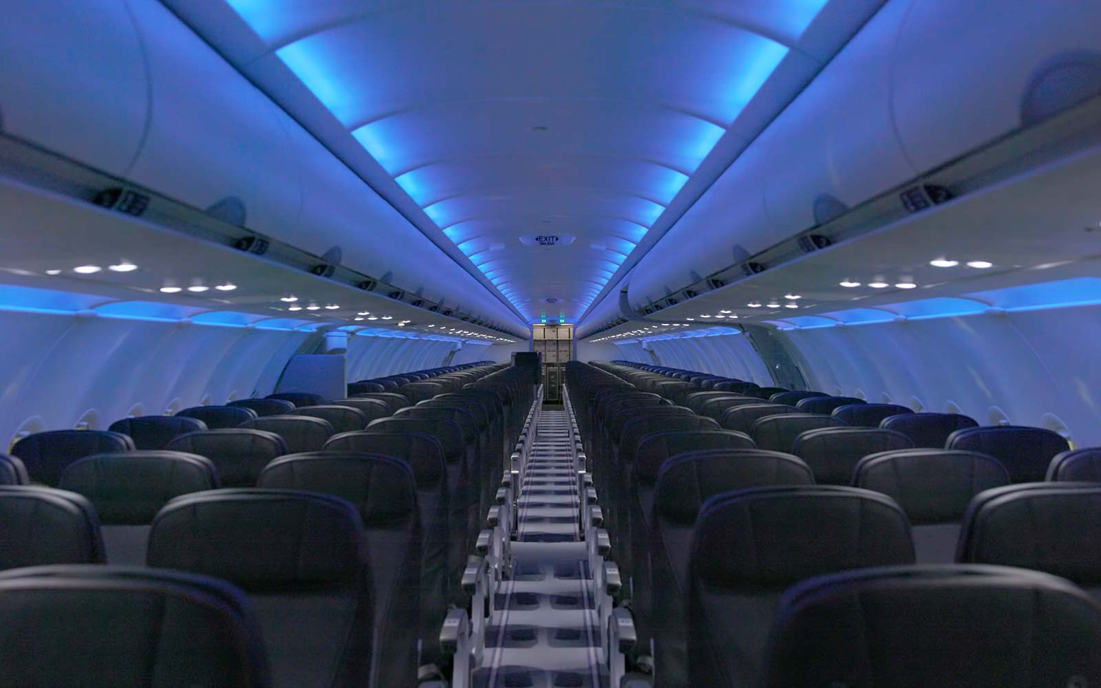 JetBlue A320 Cabin Restyling Seating Economy