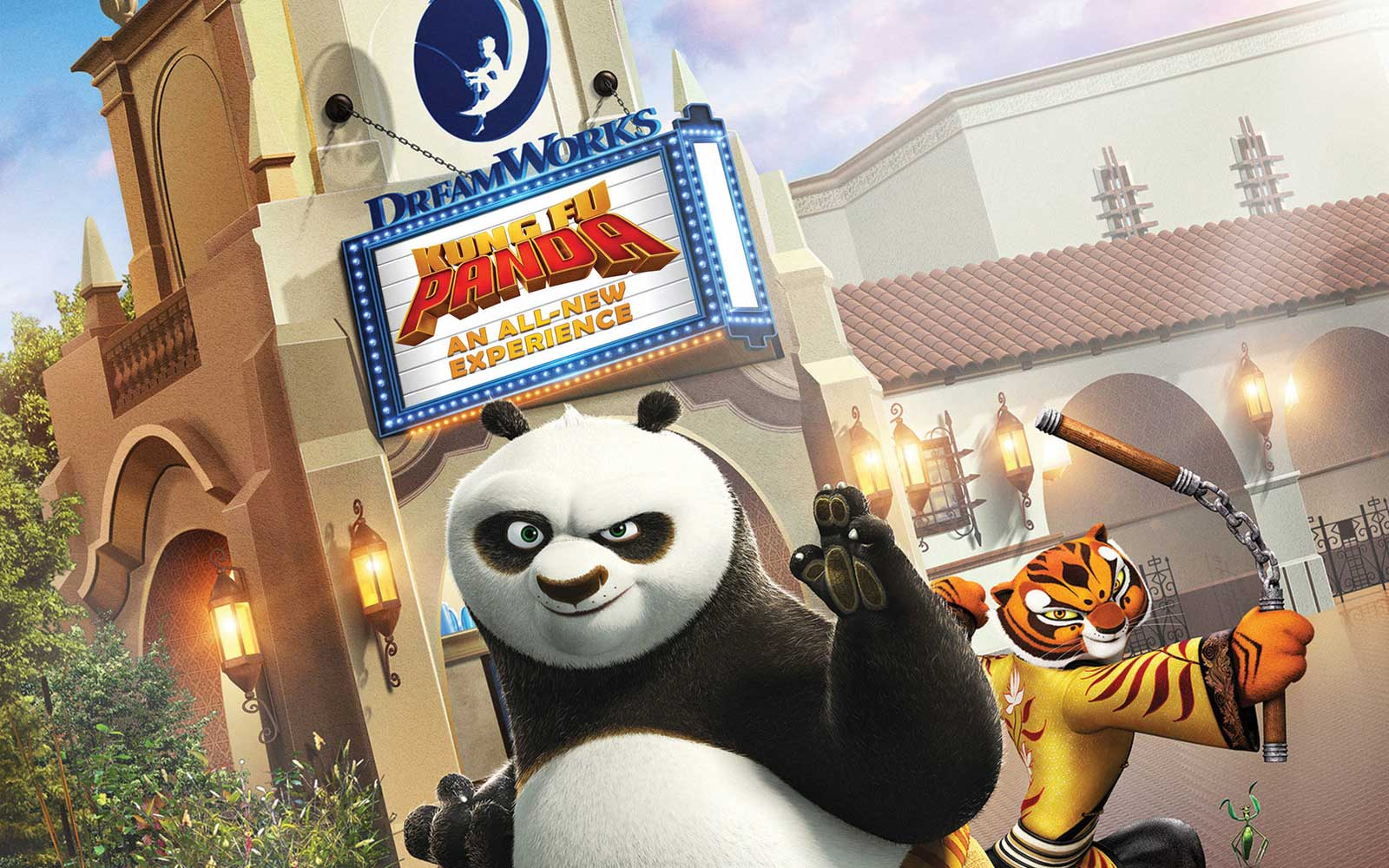 Dreamworks Theater featuring Kung Fu Panda coming to Universal Studios in 2018