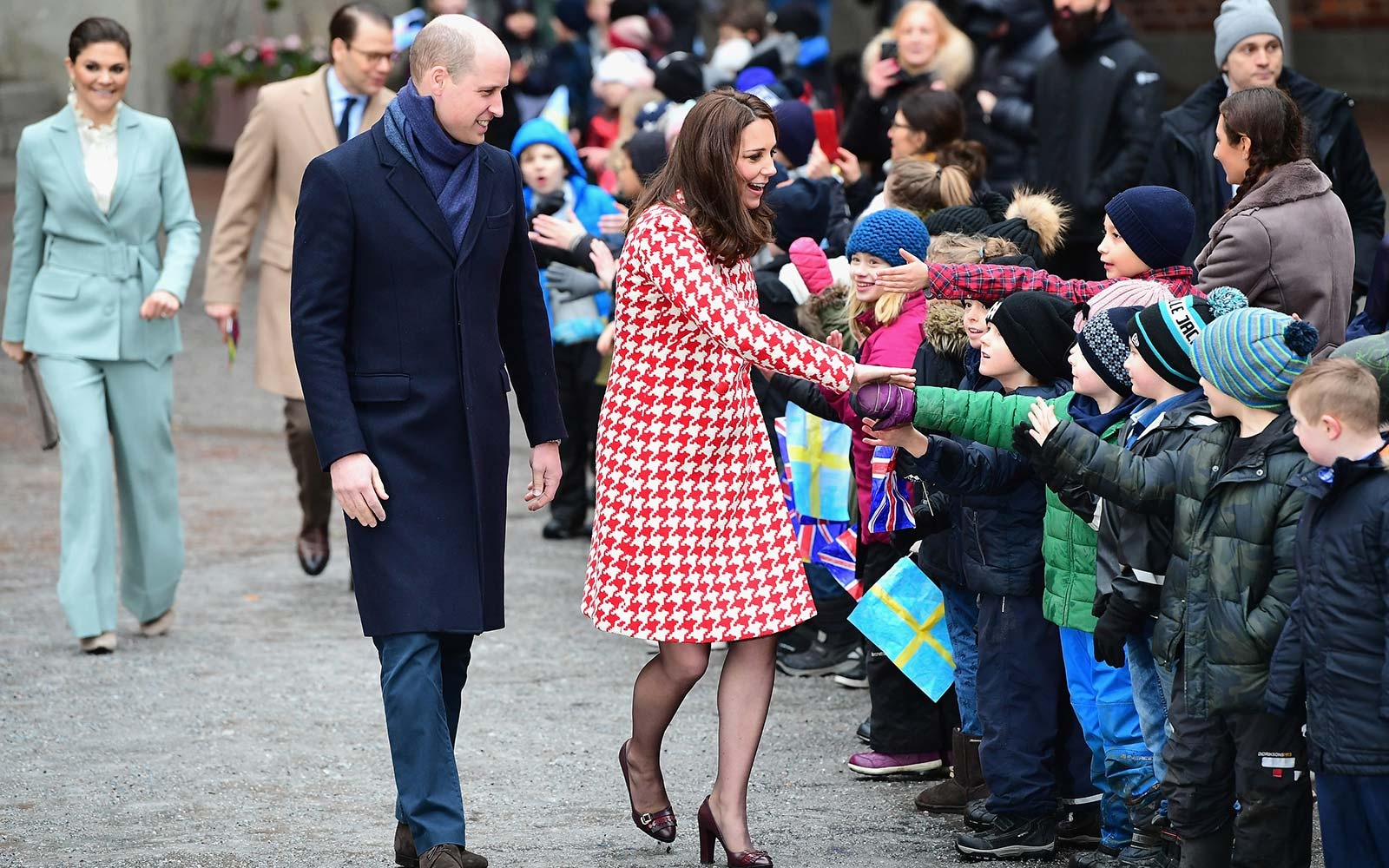 Kate Middleton Prince William Royal Visit Norway Sweden