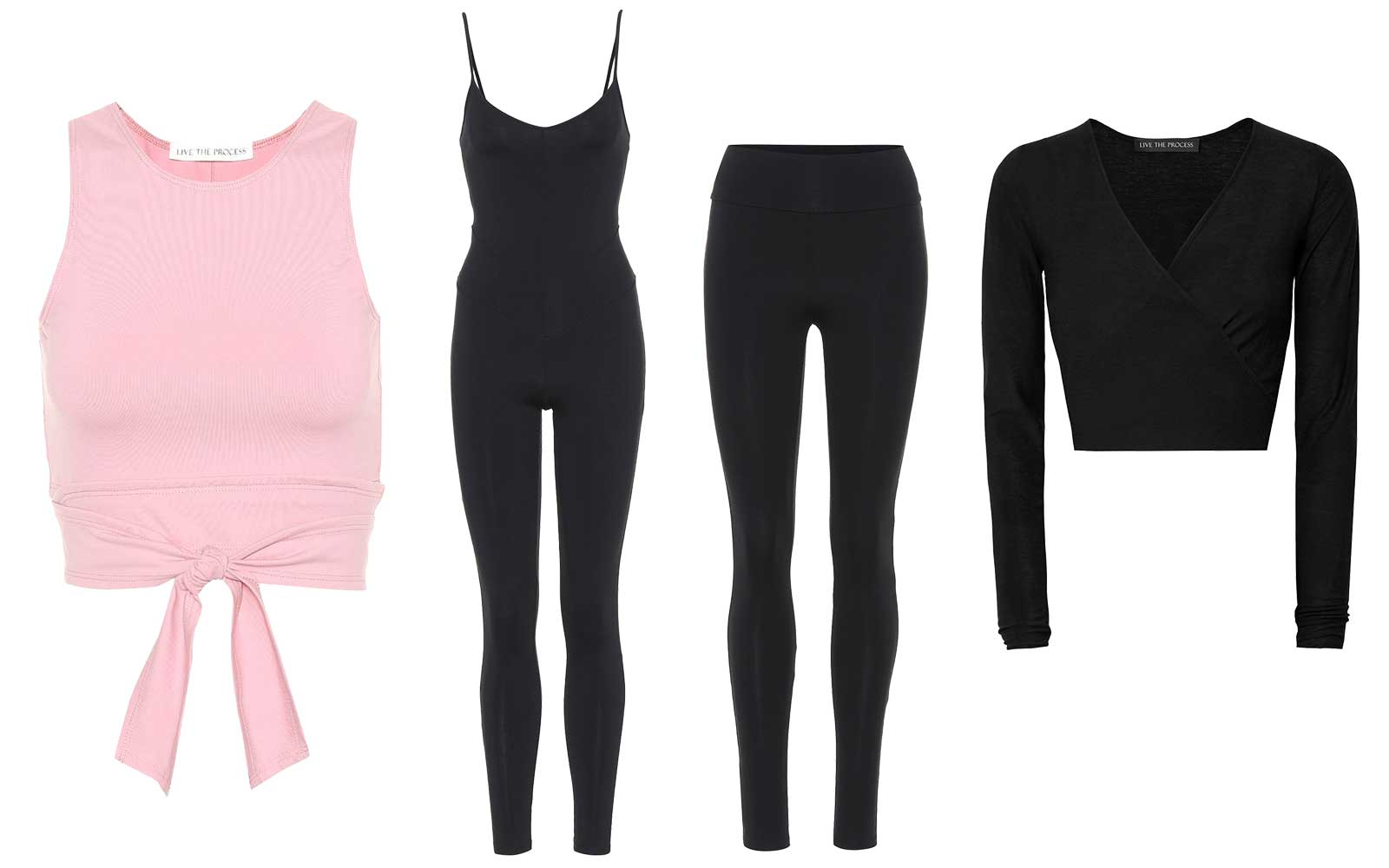 Ballet inspired activewear by Live the Process