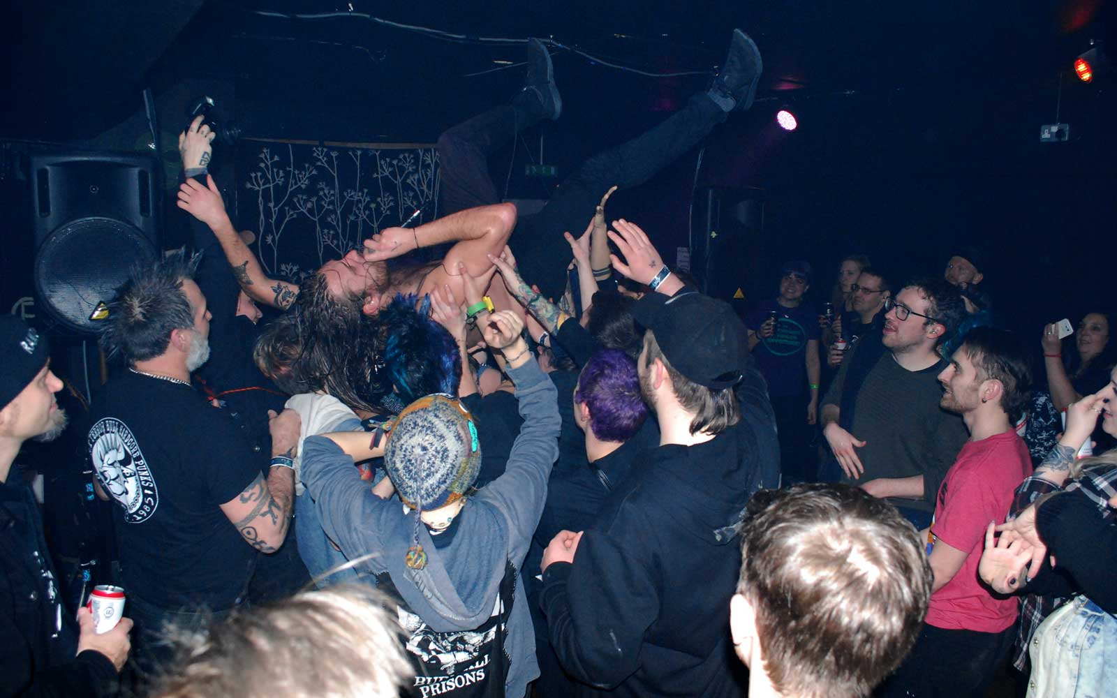 Punk show in Liverpool