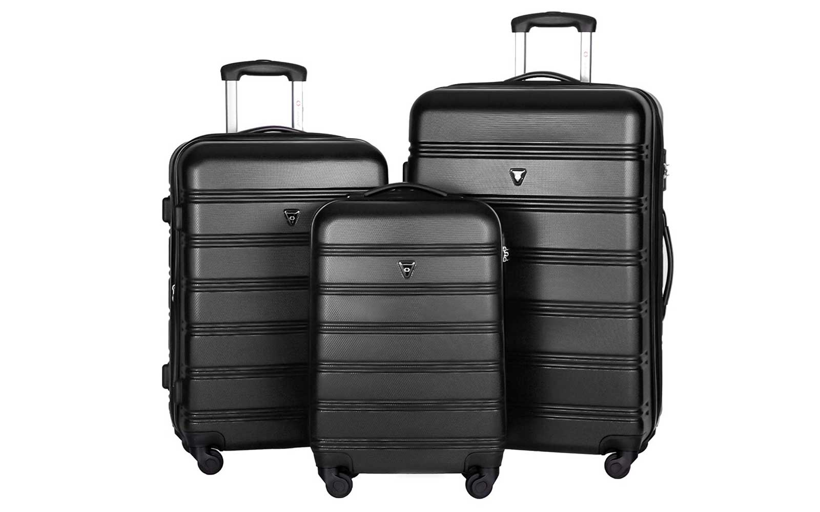 Merax Travelhouse Luggage Set 3 Piece Luggage