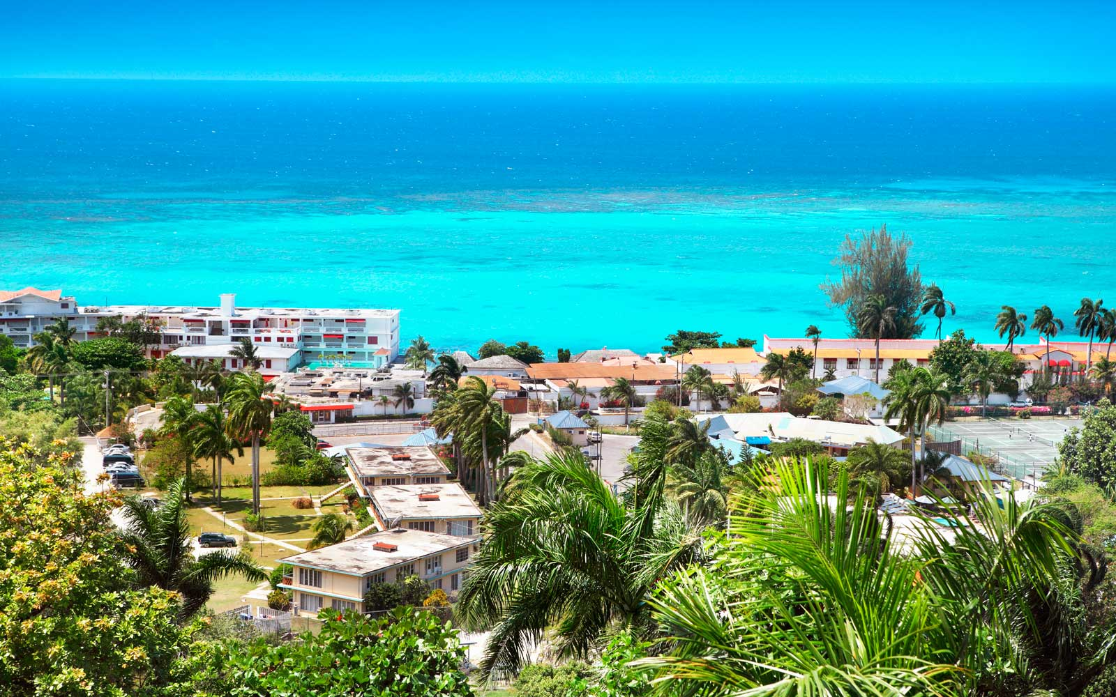 Montego Bay is a popular tourist destination in Jamaica
