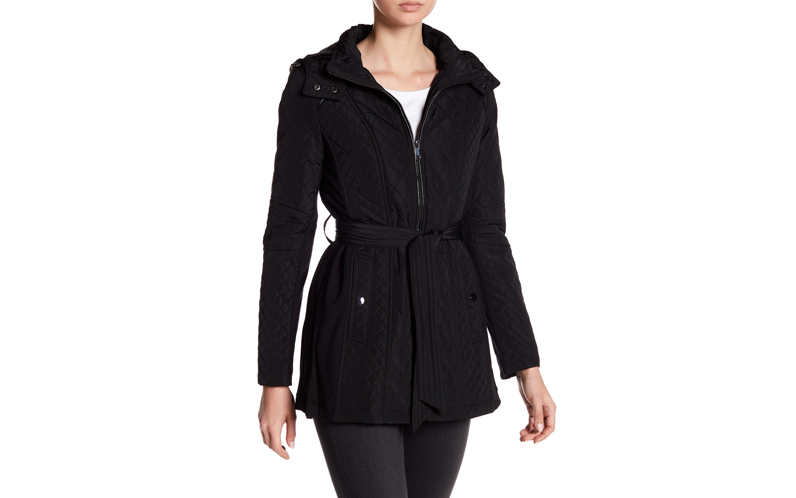Nordstrom Rack Sebby Quilt Hooded Jacket