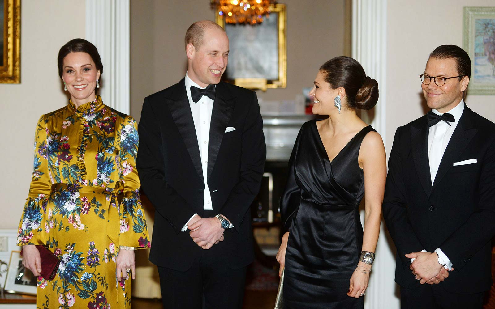 Kate Middleton Prince William Royal Visit Norway Sweden Dinner
