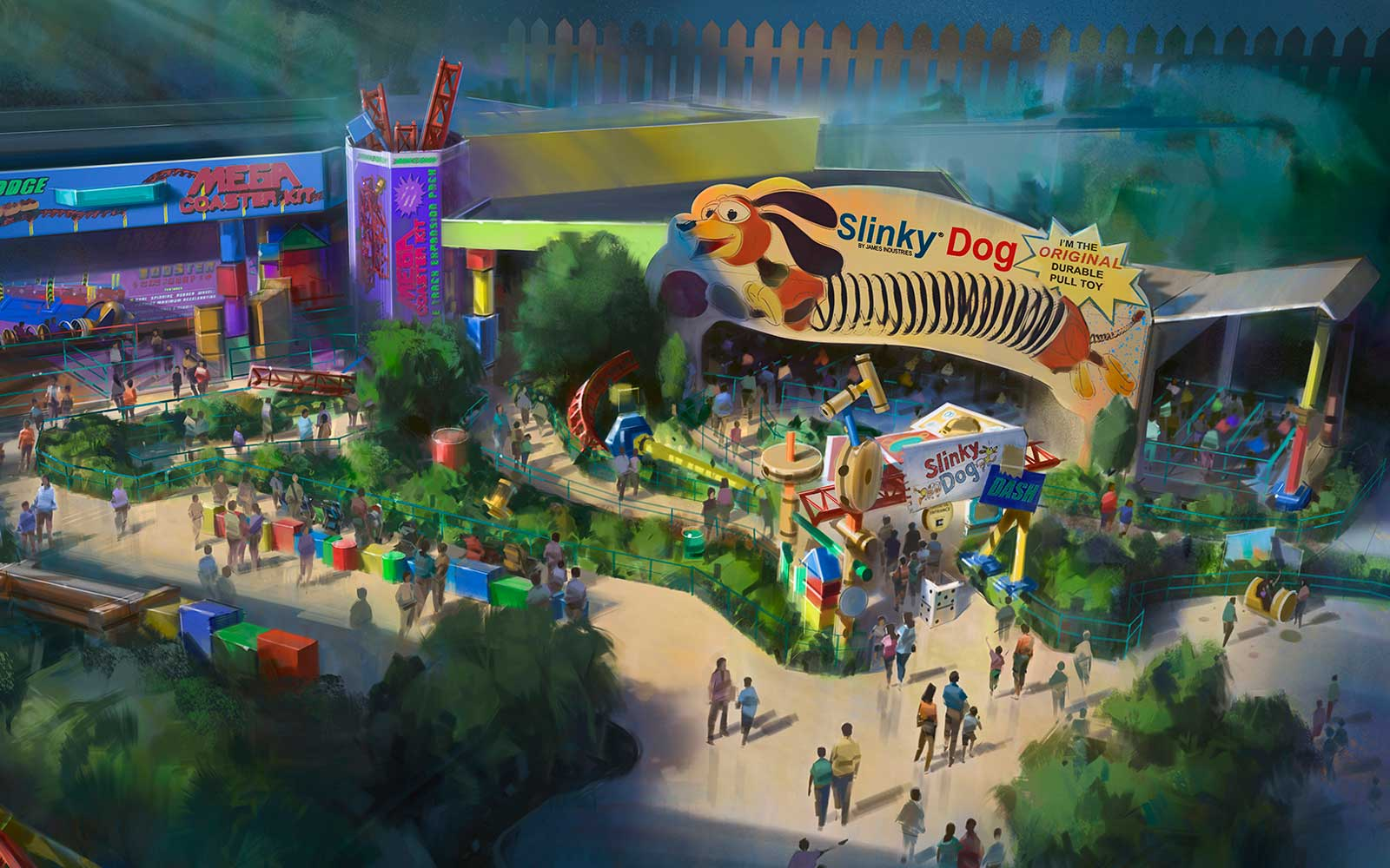 Toy Story Slinky Dog ride coming to Disney in 2018