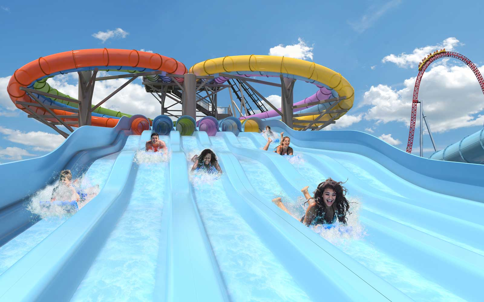 Whitecap Racer slides coming to Hersheypark in 2018