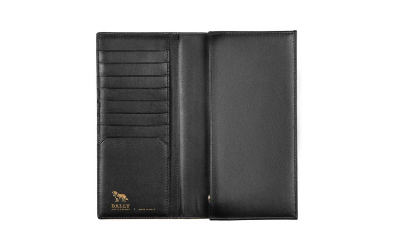 bally mens travel wallet