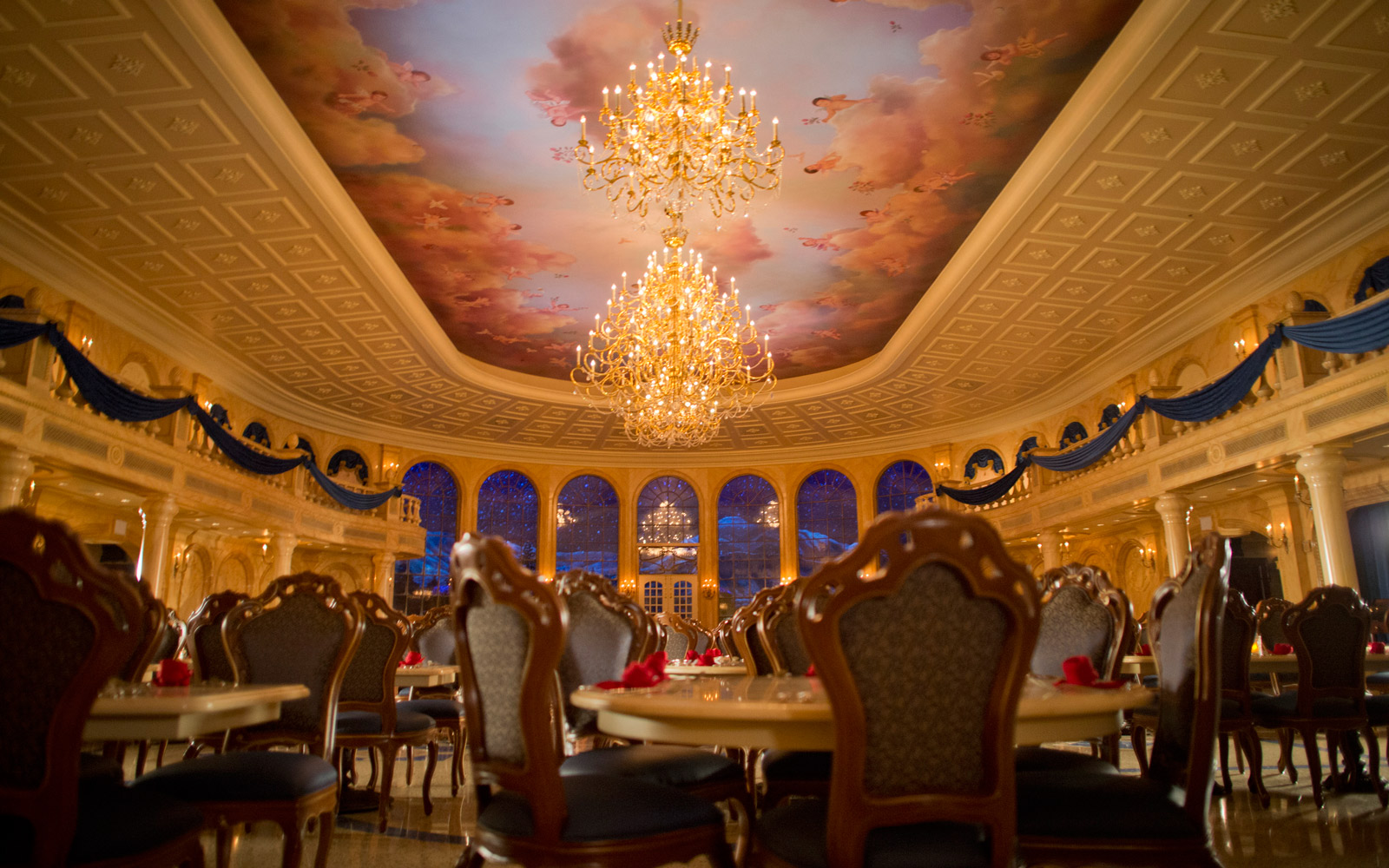 Fairy Tale Elegance at Be Our Guest Restaurant