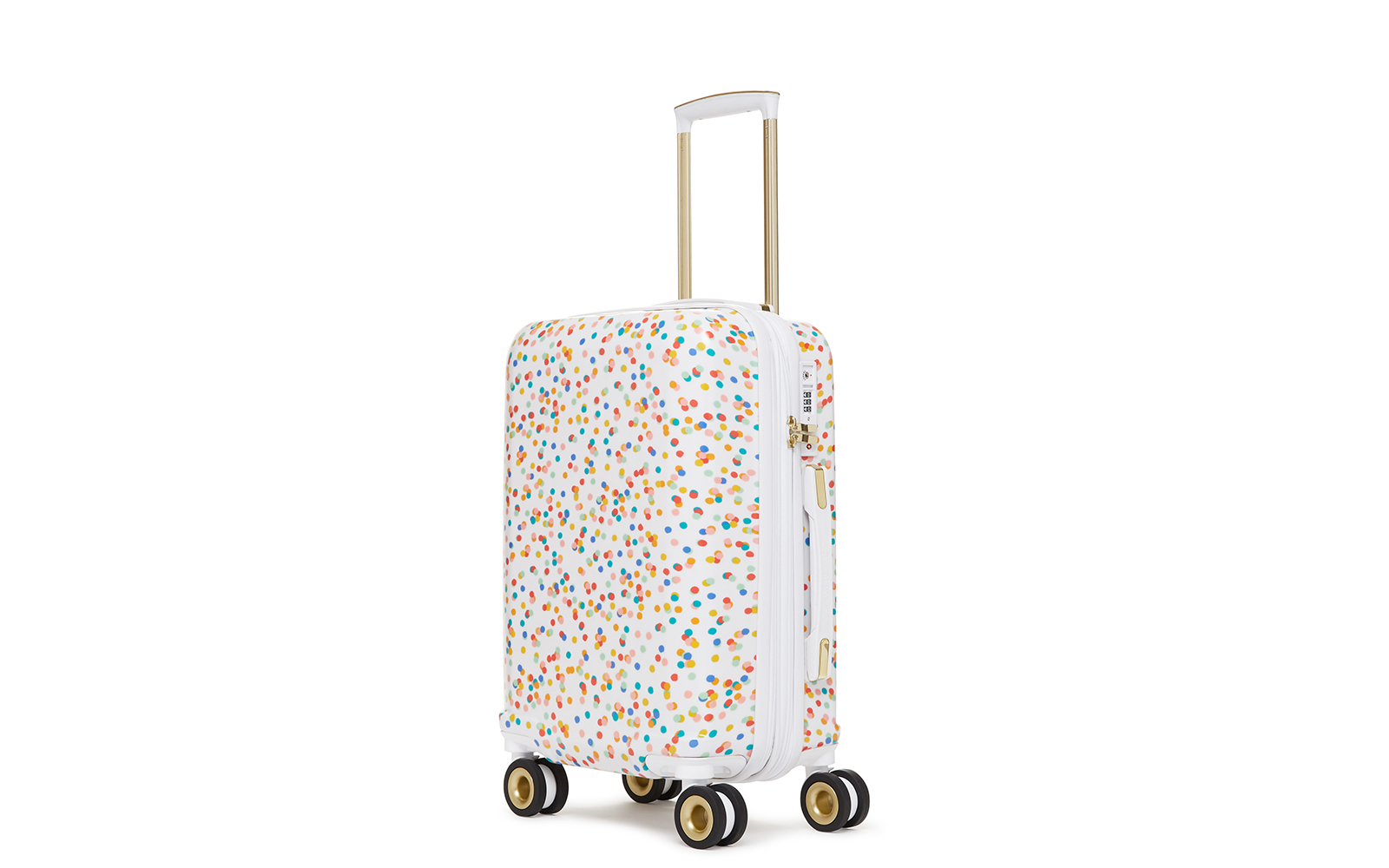 20-inch Hardshell Spinner Carry-on Suitcase in Confetti